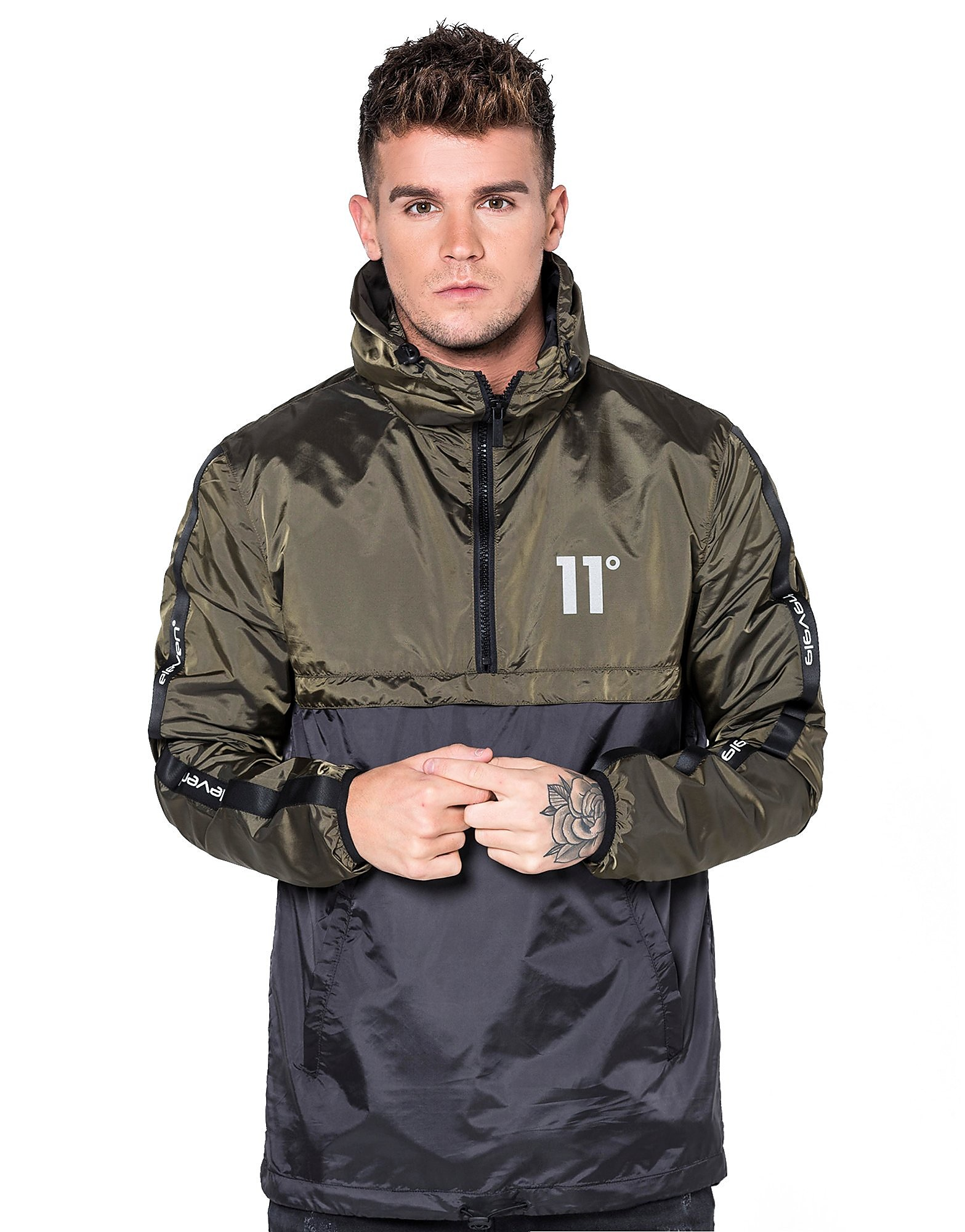 11 Degrees Overhead Windrunner Jacket
