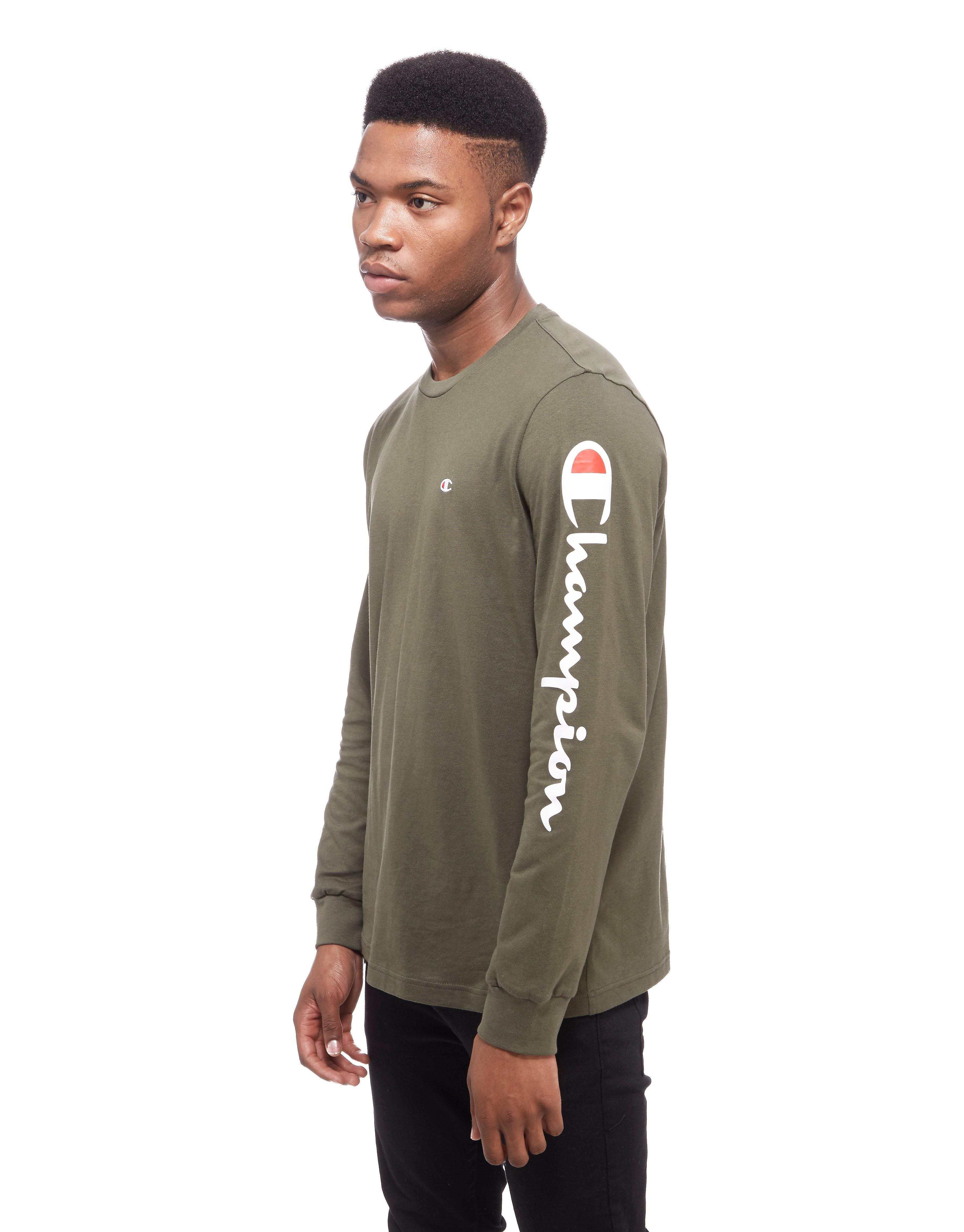 Champion Long Sleeve Logo T-Shirt
