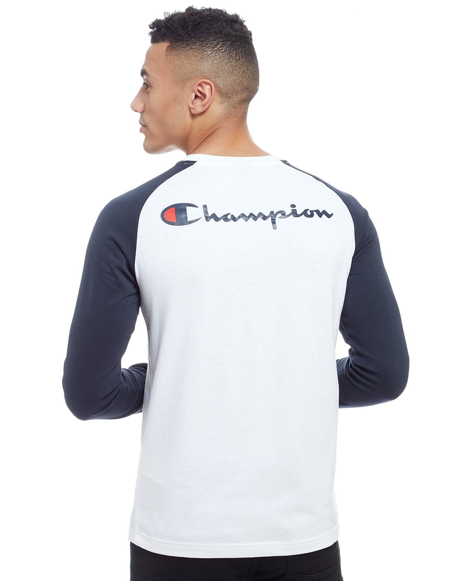 Champion Langarm Raglan T-Shirt