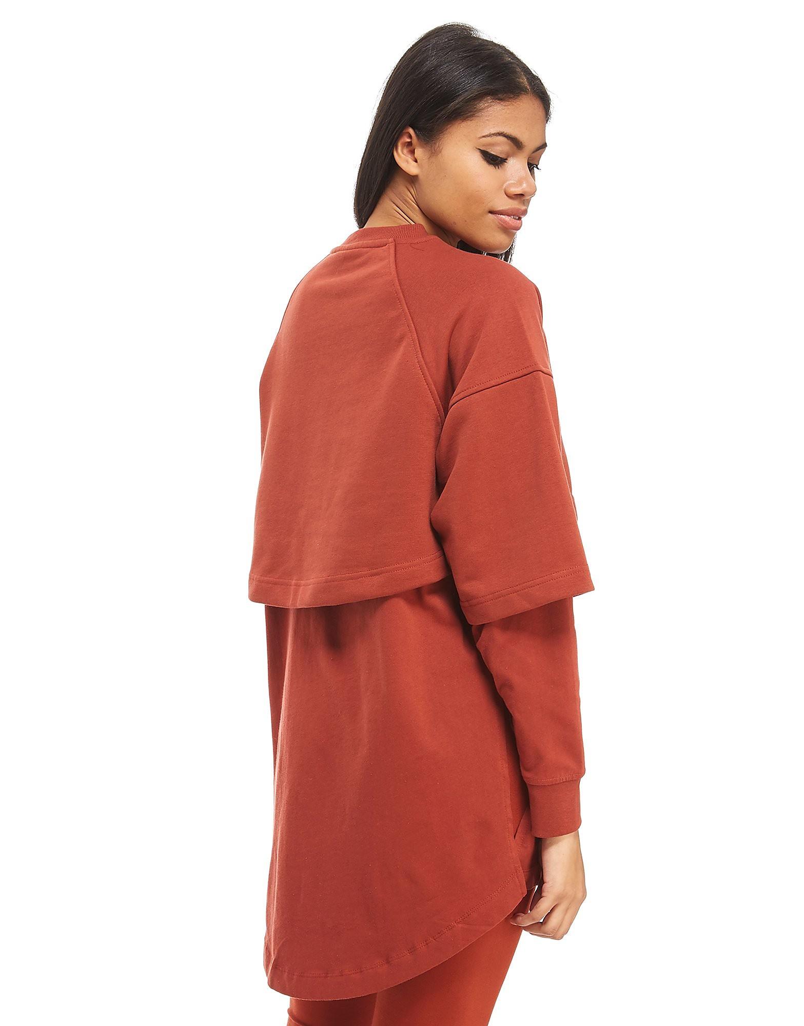 IVY PARK Hybrid Line Crop Sweatshirt