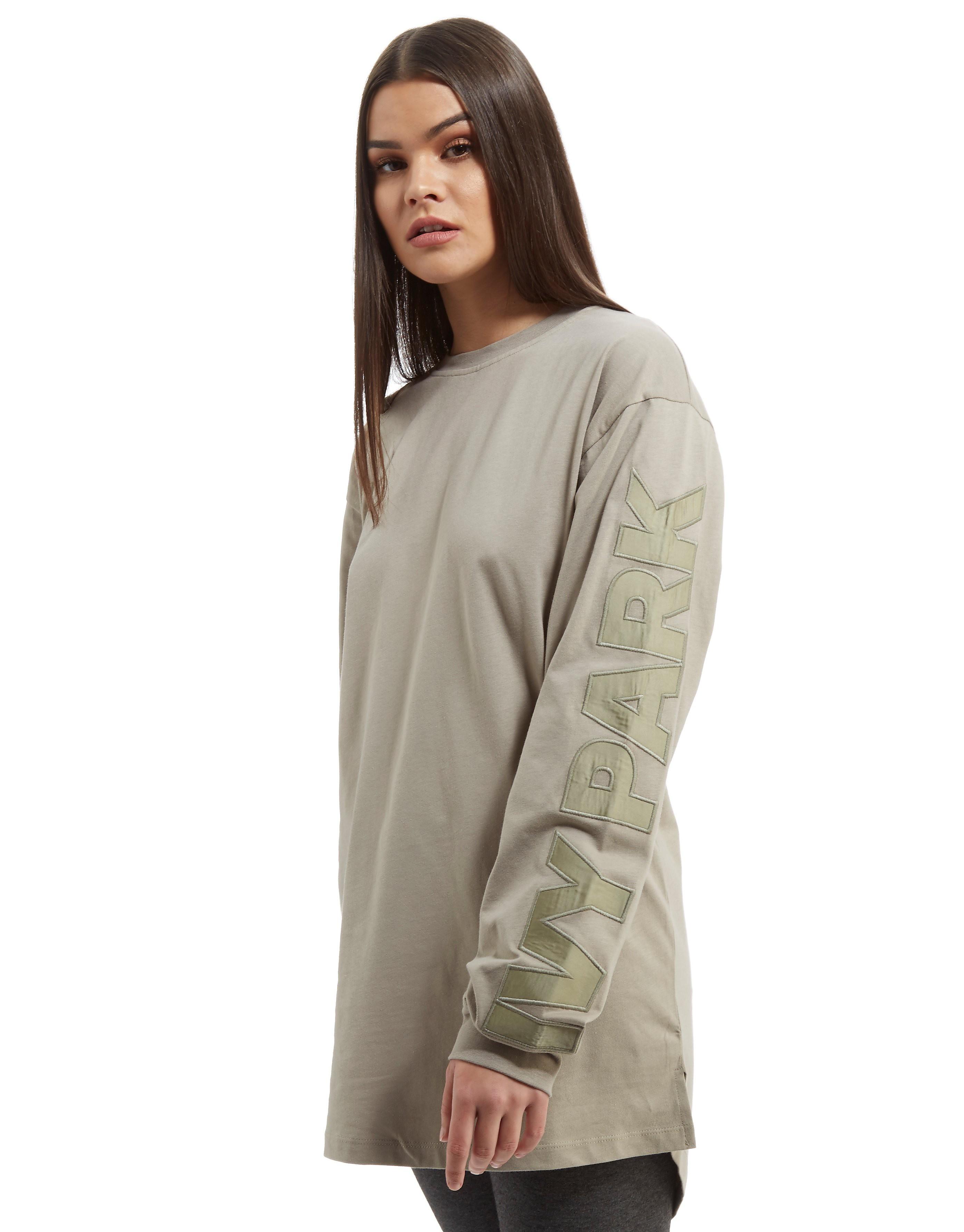 IVY PARK Boyfriend Long Sleeve Logo T-Shirt