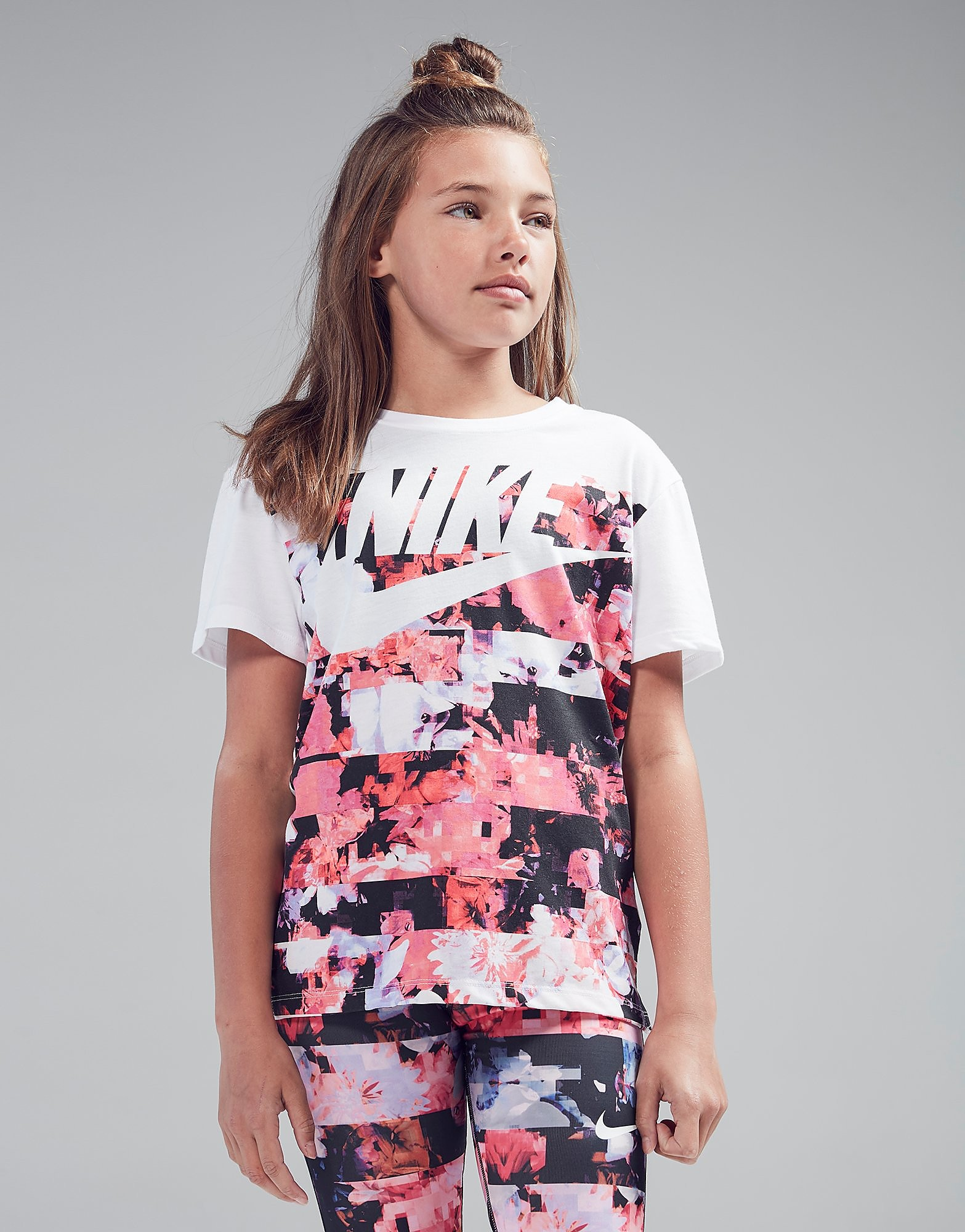Nike Girls' Dry Flower T-Shirt Junior