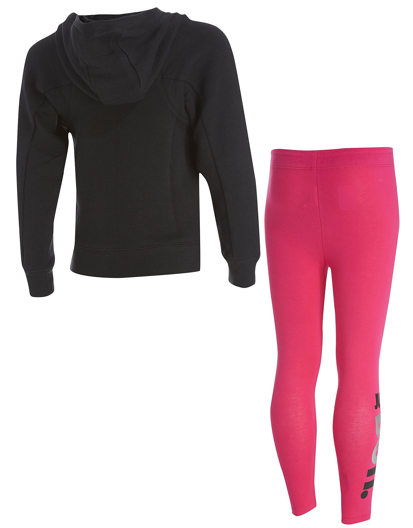 Nike conjunto de sudadera y leggings Just Do It infantil