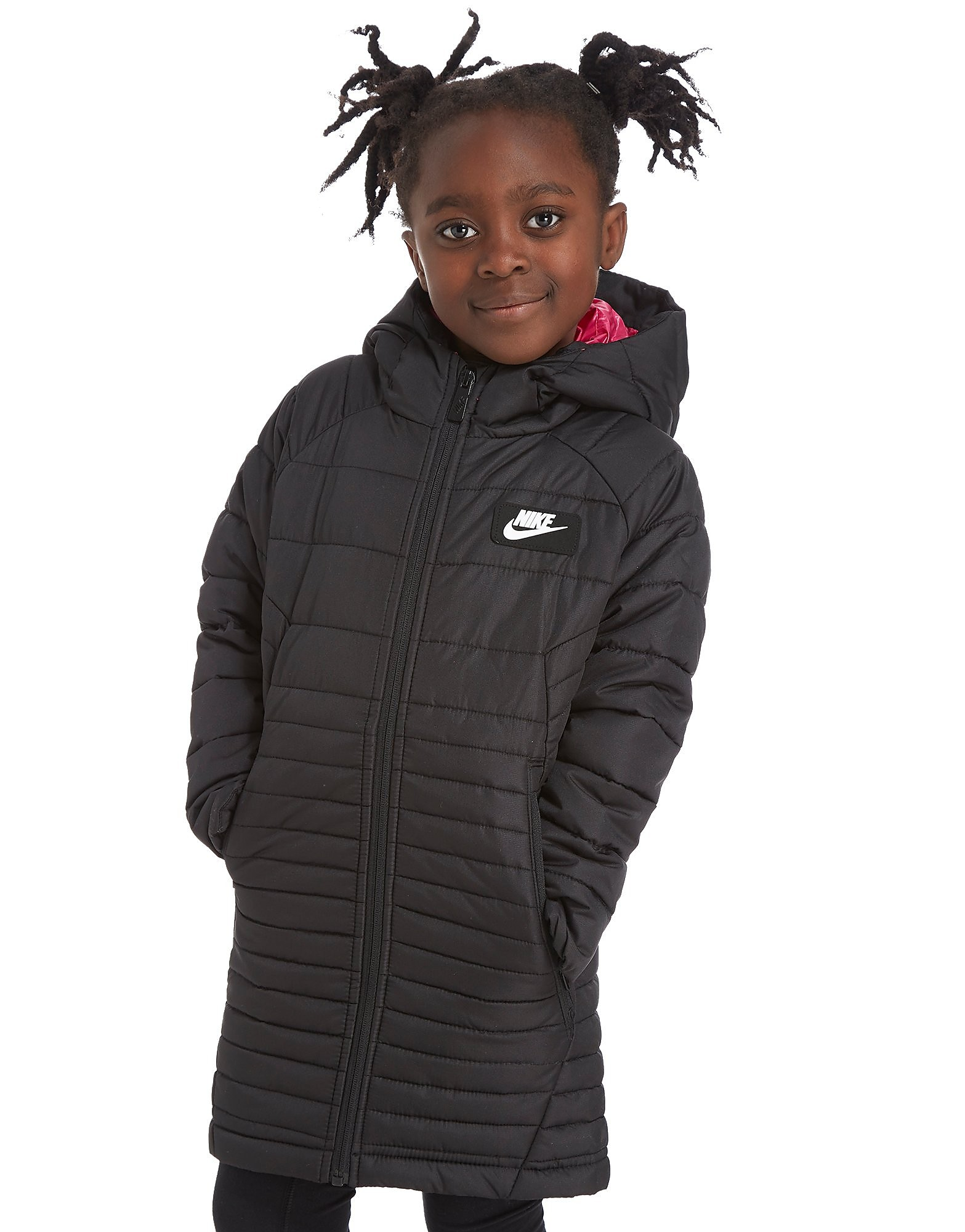 Nike Girls' Guild Long Padded Jacket Children