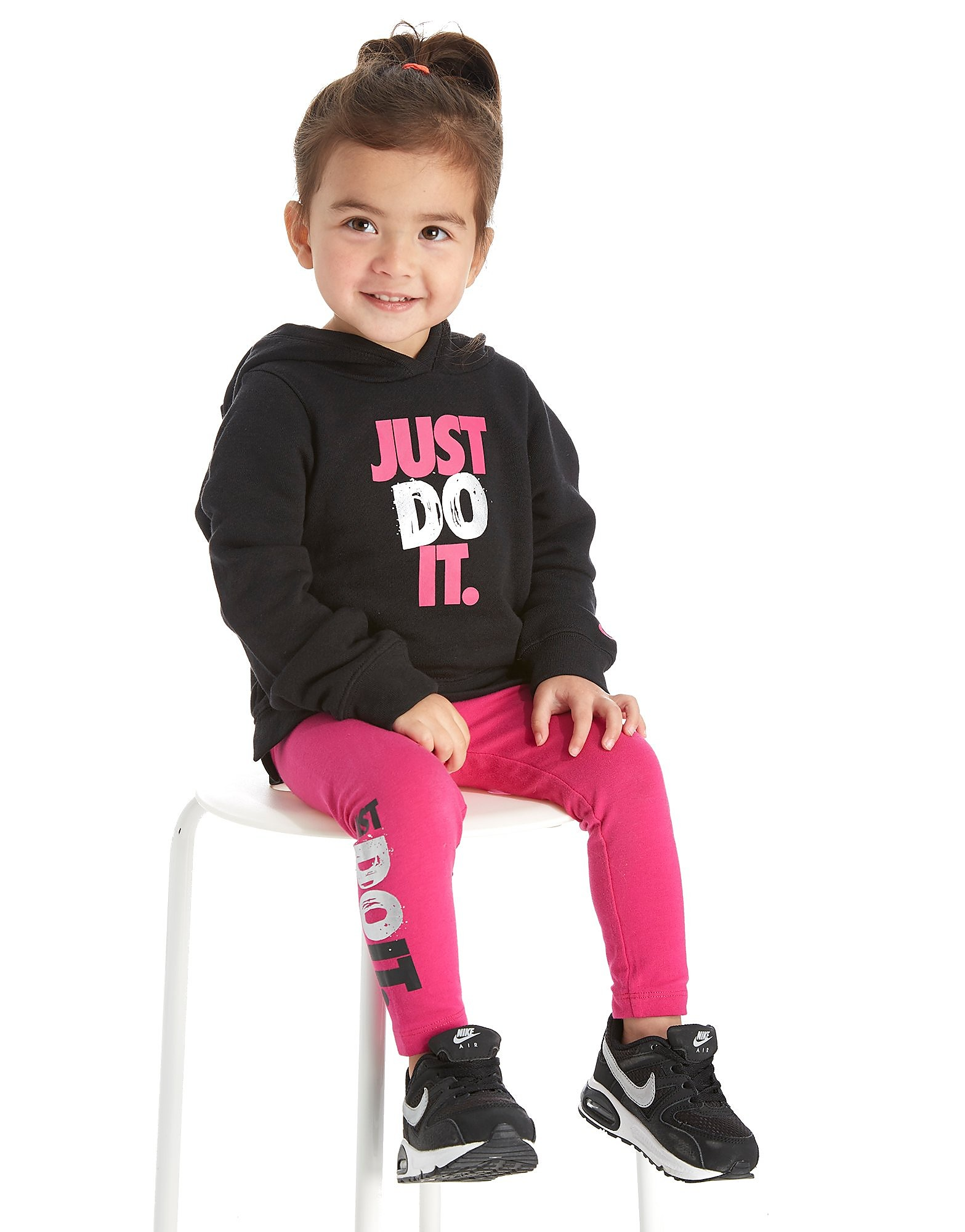 Nike Girls' Just Do It Hoodie/Leggings Set Infant
