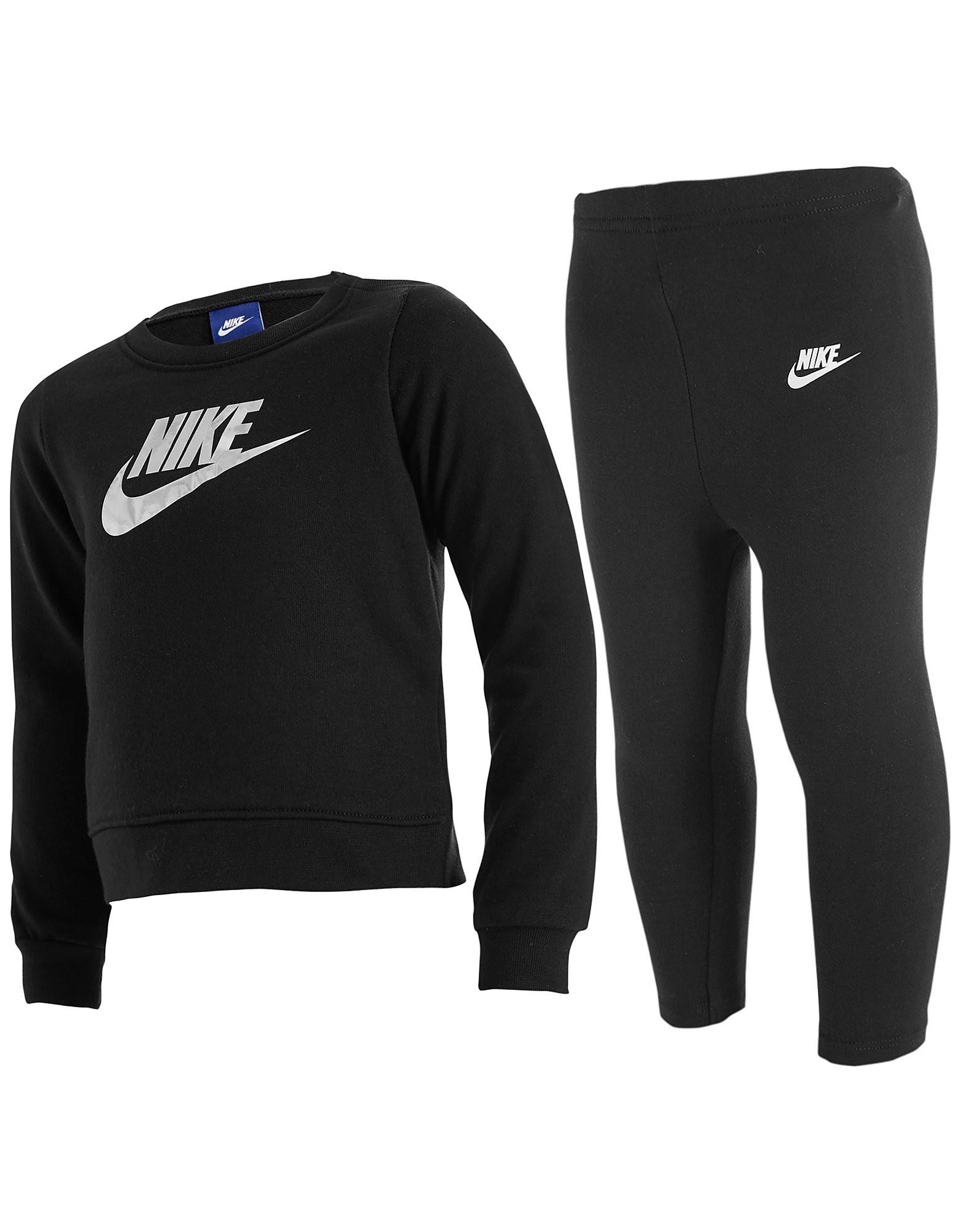 Nike Completo Felpa e Leggings Bebè