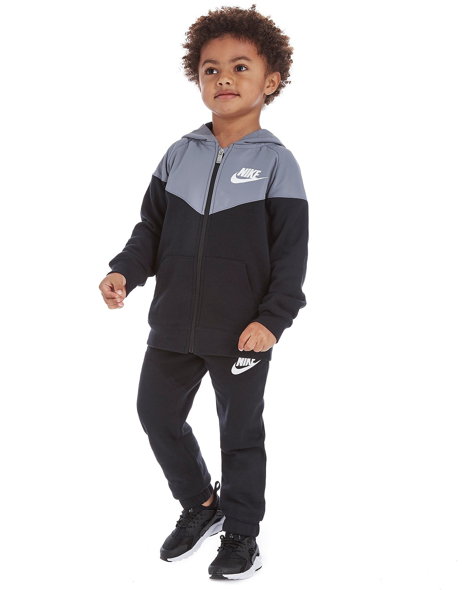Nike Hybrid Trainingsanzug Mit Durchgehendem RV Kinder