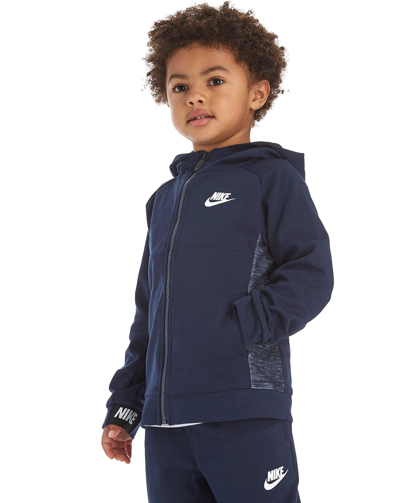 Nike AV15 Full Zip Hoodie Children