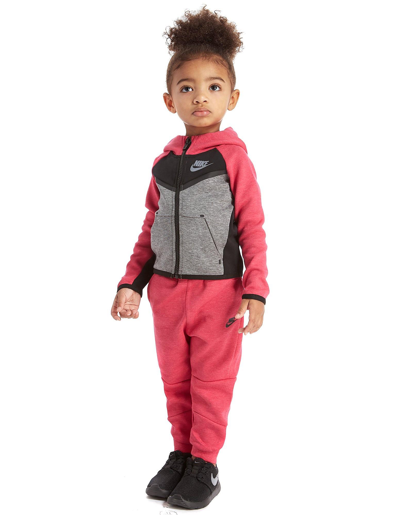 Nike Girls' Tech Fleece Set Infant