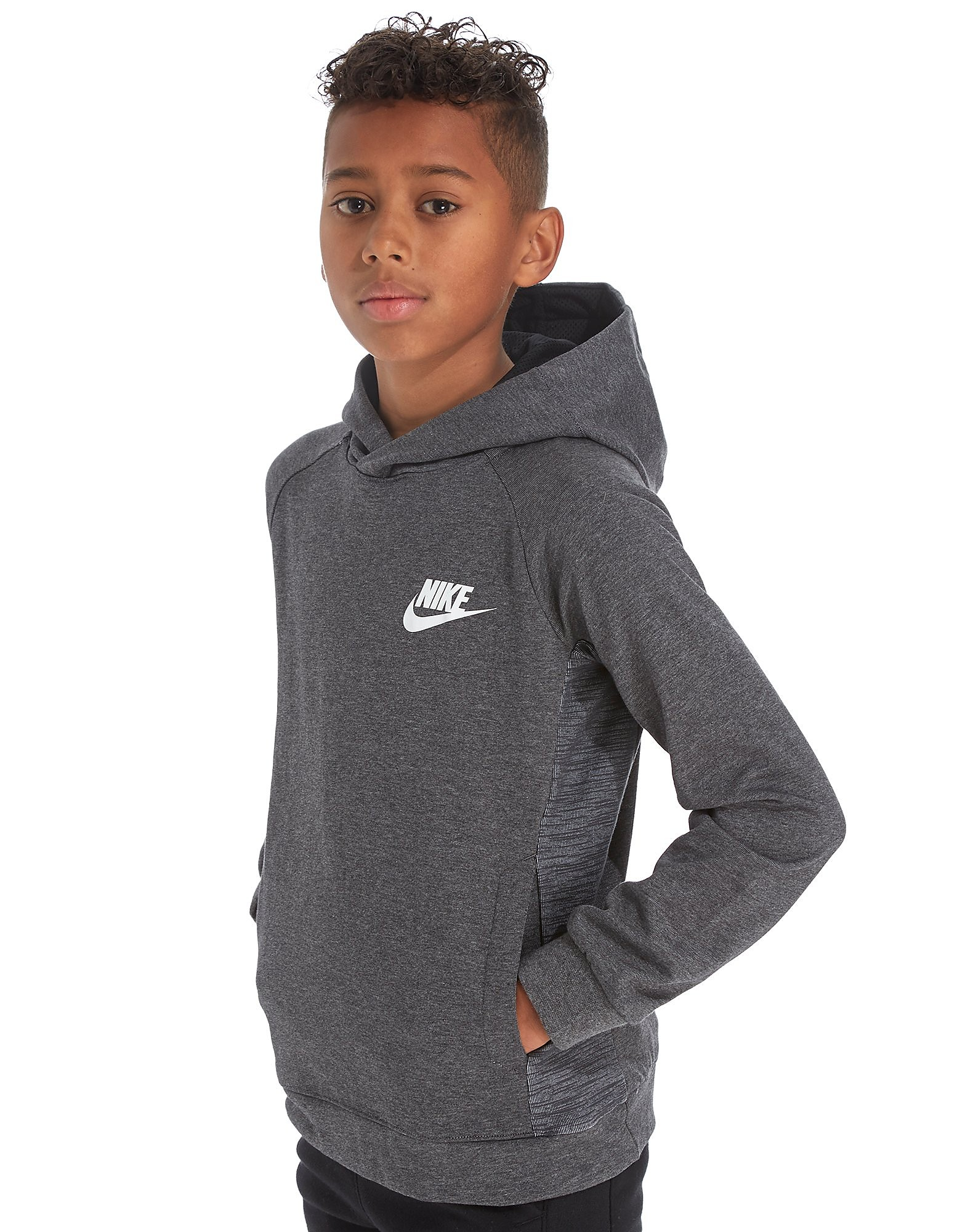 Nike Advance Fleece Felpa con Cappuccio Junior