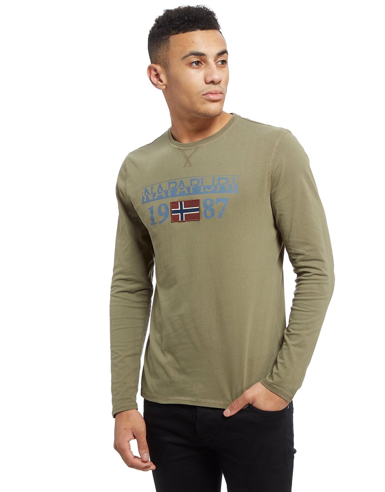Napapijri Core Logo Long Sleeve T-Shirt