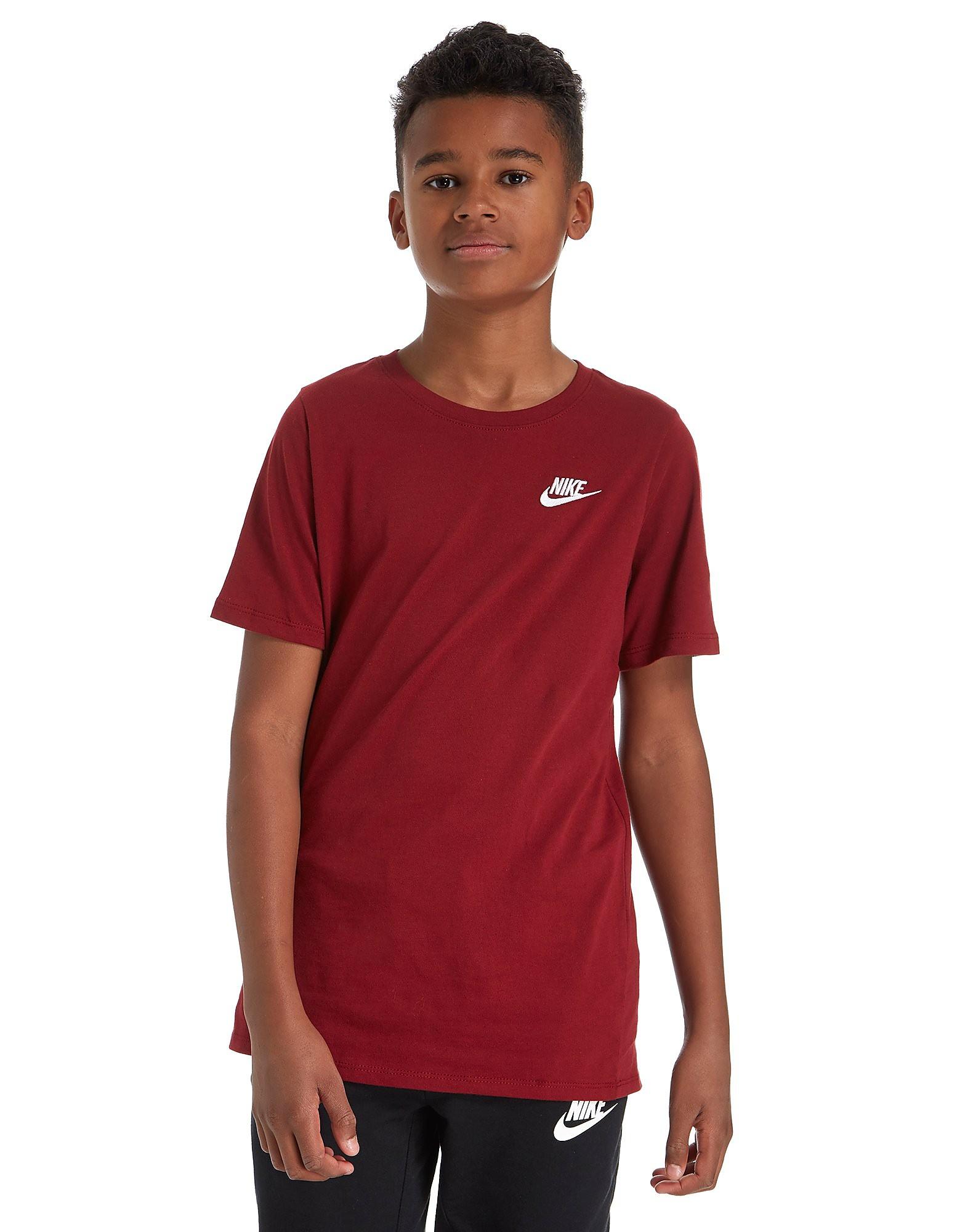 Nike Franchise T-Shirt Junior - rouge/blanc, rouge/blanc