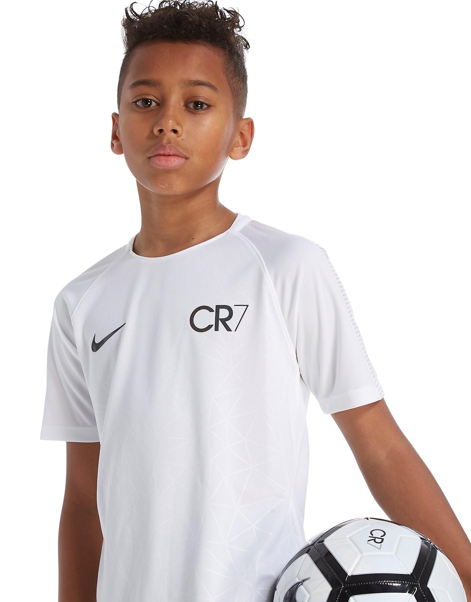 Nike CR7 T-Shirt Junior - blanc, blanc