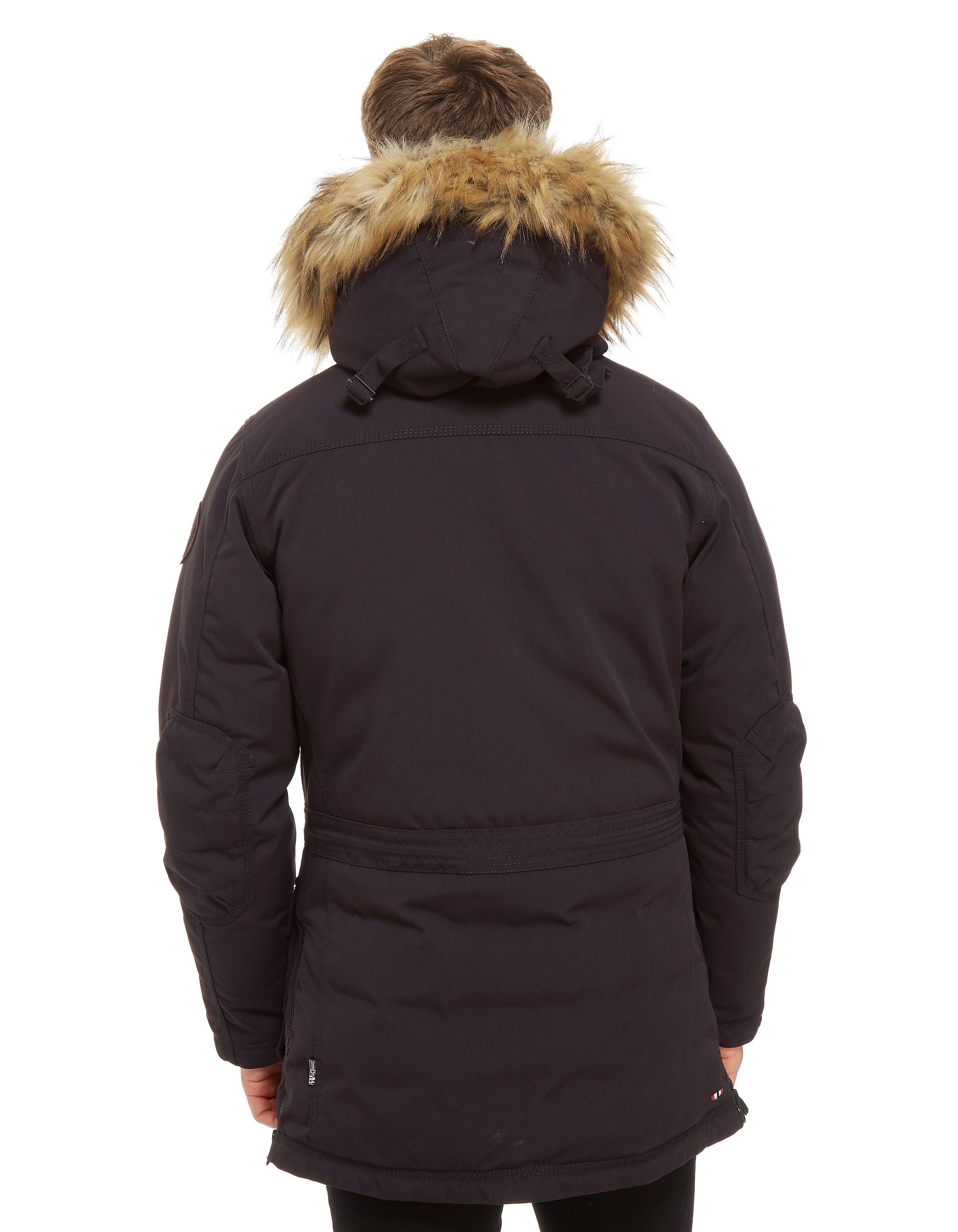 Napapijri Skidoo Long Zip Through Parka Jacket Heren