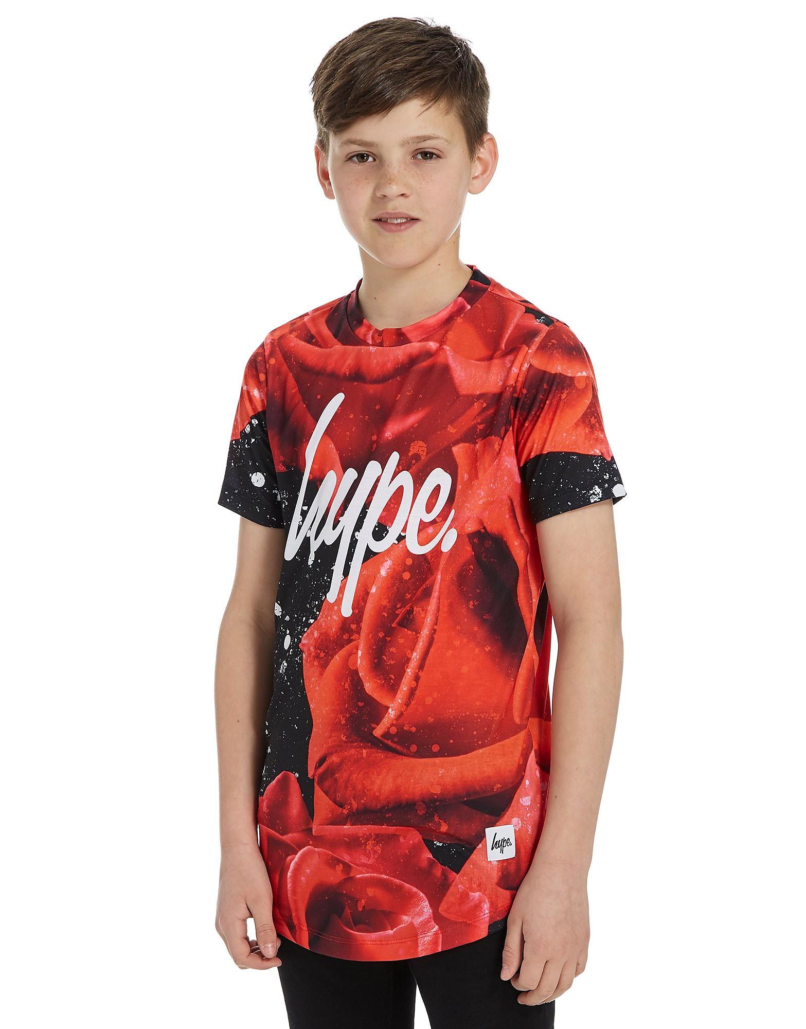 Hype Rose Splatter Dish T-Shirt Junior