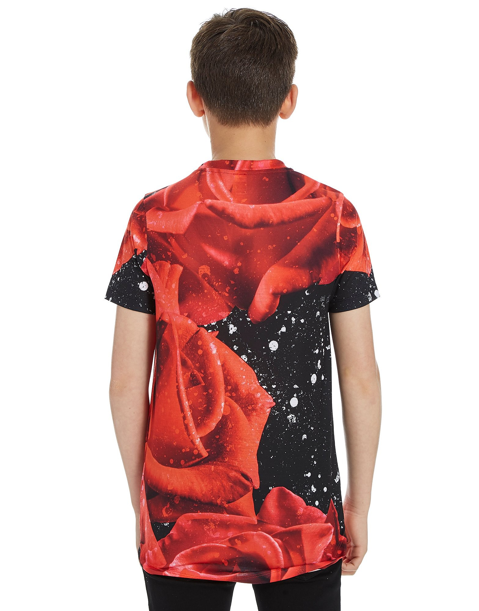 Hype Rose Splatter Dish T-Shirt Junior