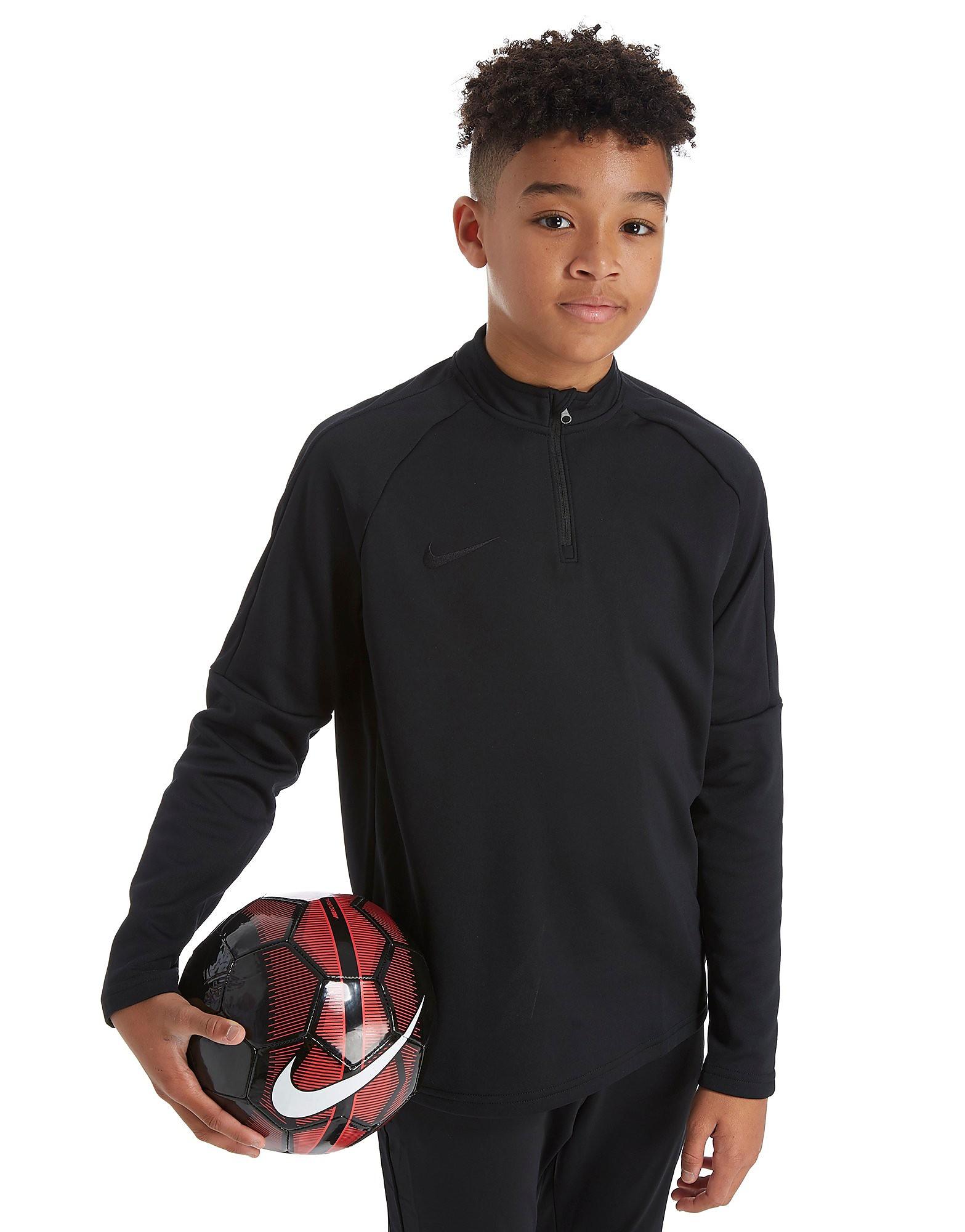 Nike Academy 1/4 Zip Veste Junior - Noir, Noir