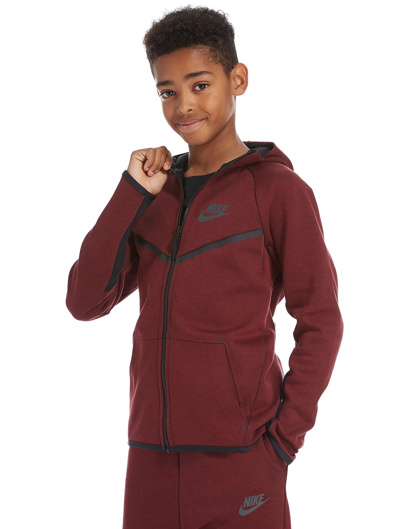 Nike Tech Windrunner Felpa con Cappuccio Junior