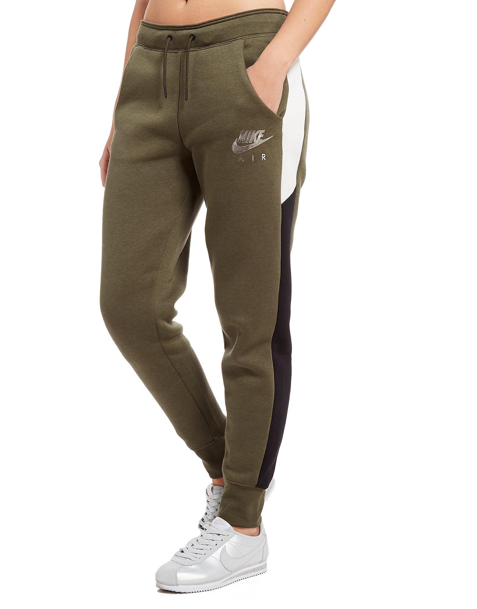 Nike Air Fleece Pants Dames - Khaki/Black - Dames