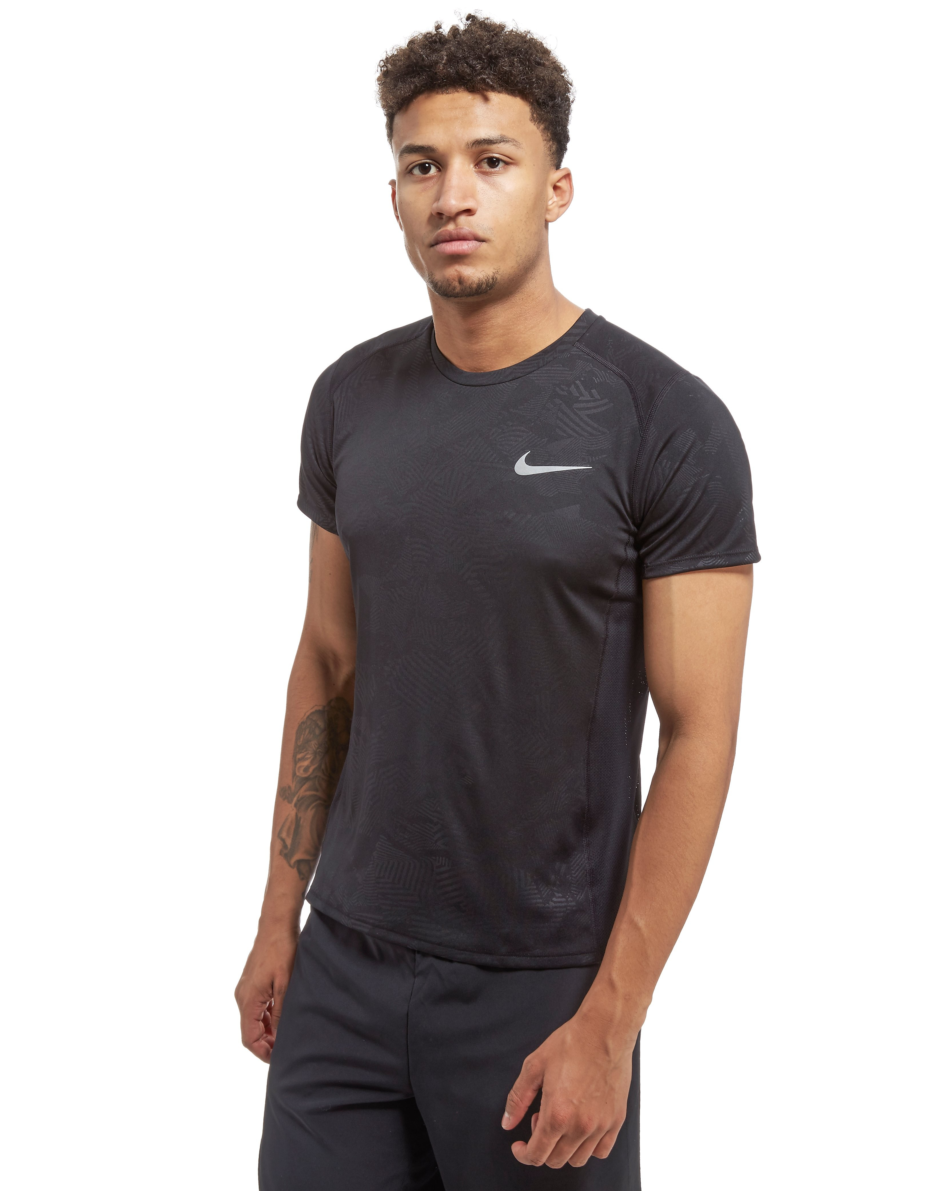 Nike Printed Miler T-Shirt