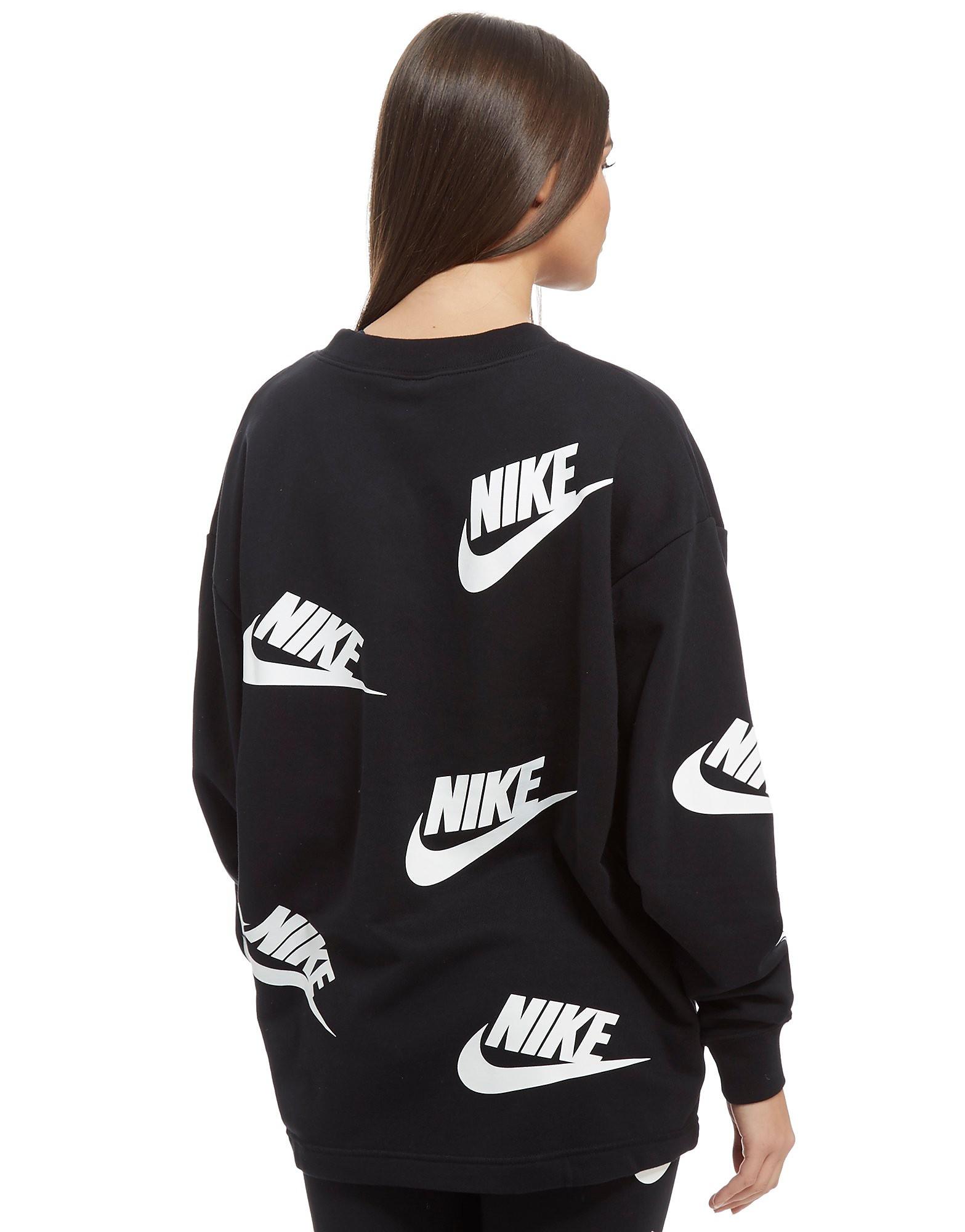 Nike All Over Print Futura Crew Sweatshirt