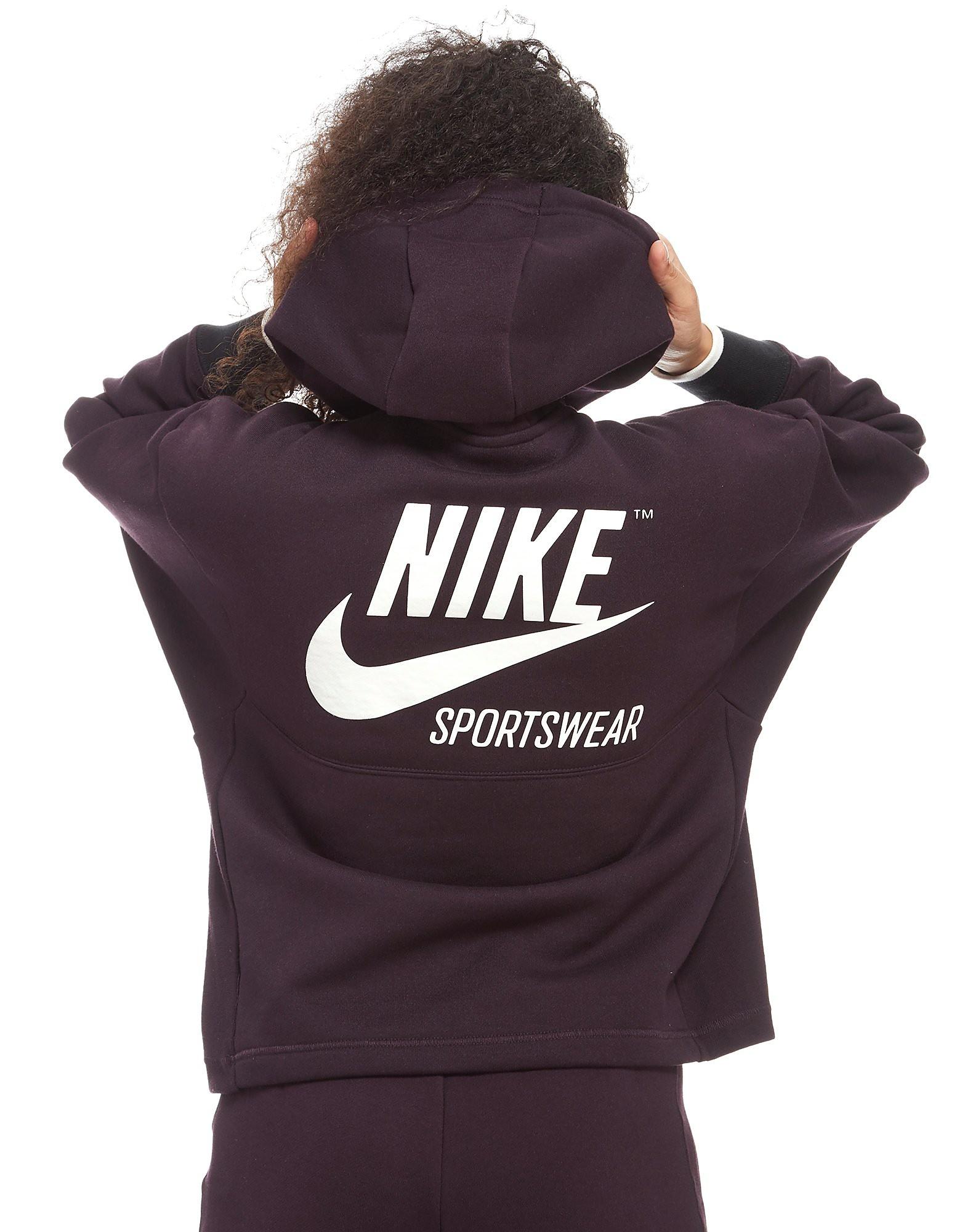 Nike Archive 1/2 Zip Hoodie Dames