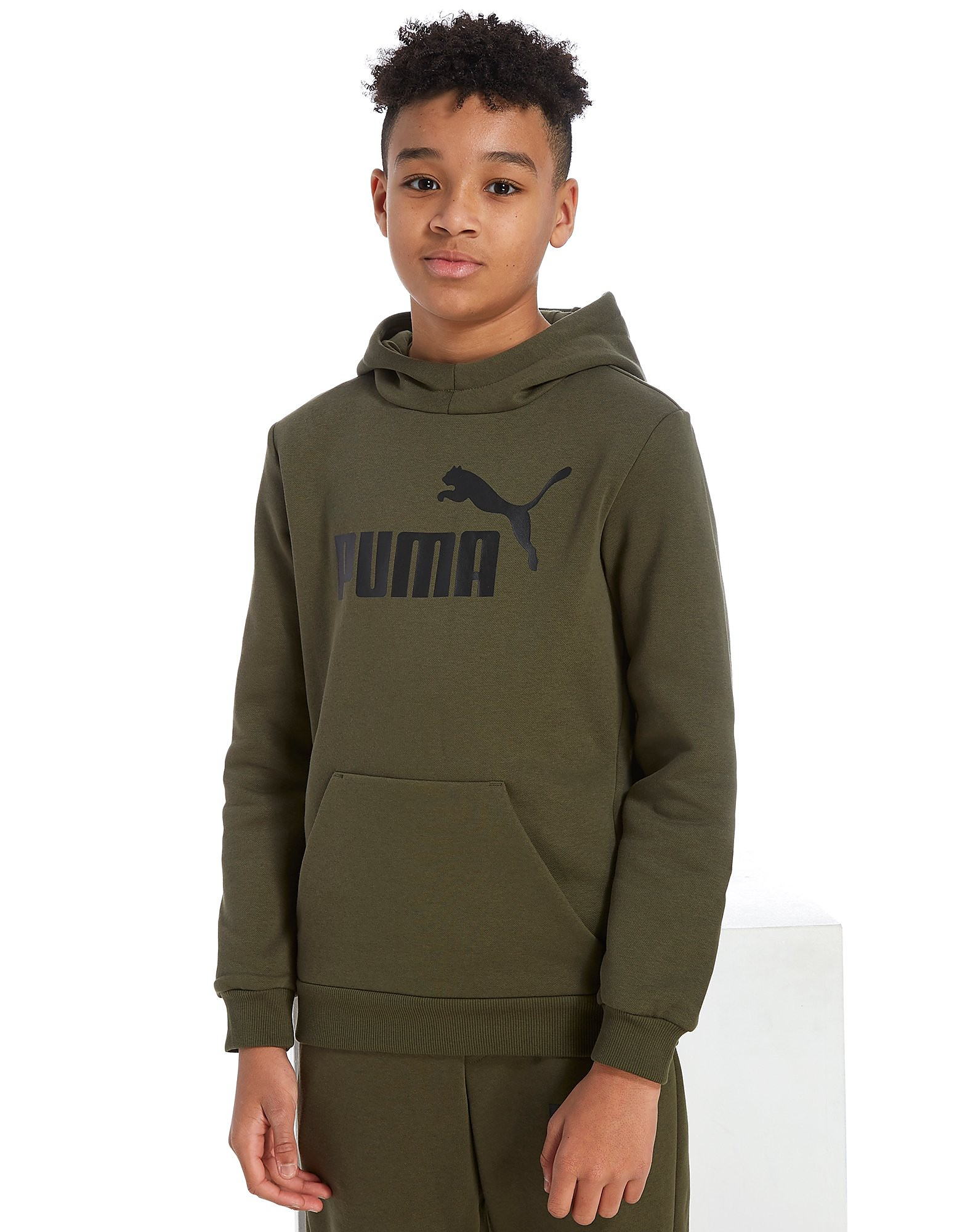 PUMA Core Logo Overhead Hoodie Junior