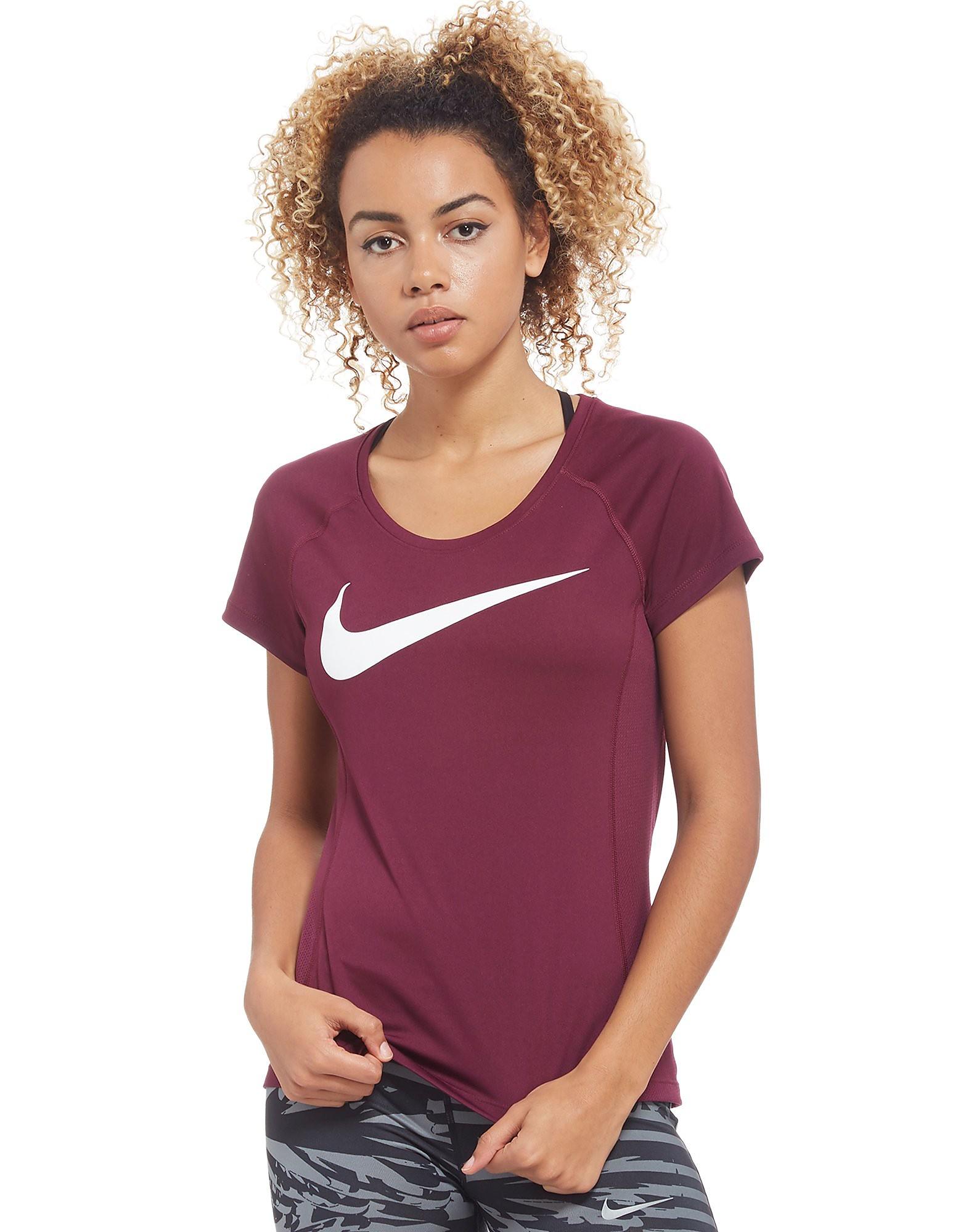 Nike Dry Miler Short Sleeve Running Top Dames