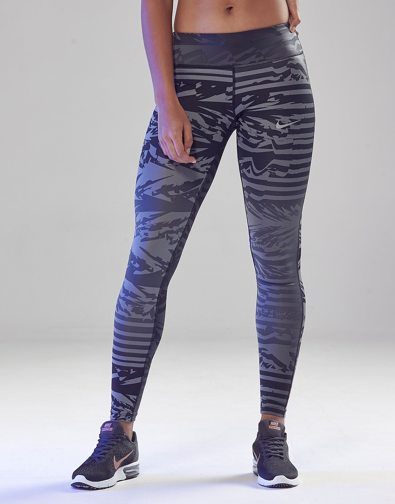Nike Druck Essentials Lauf Leggins