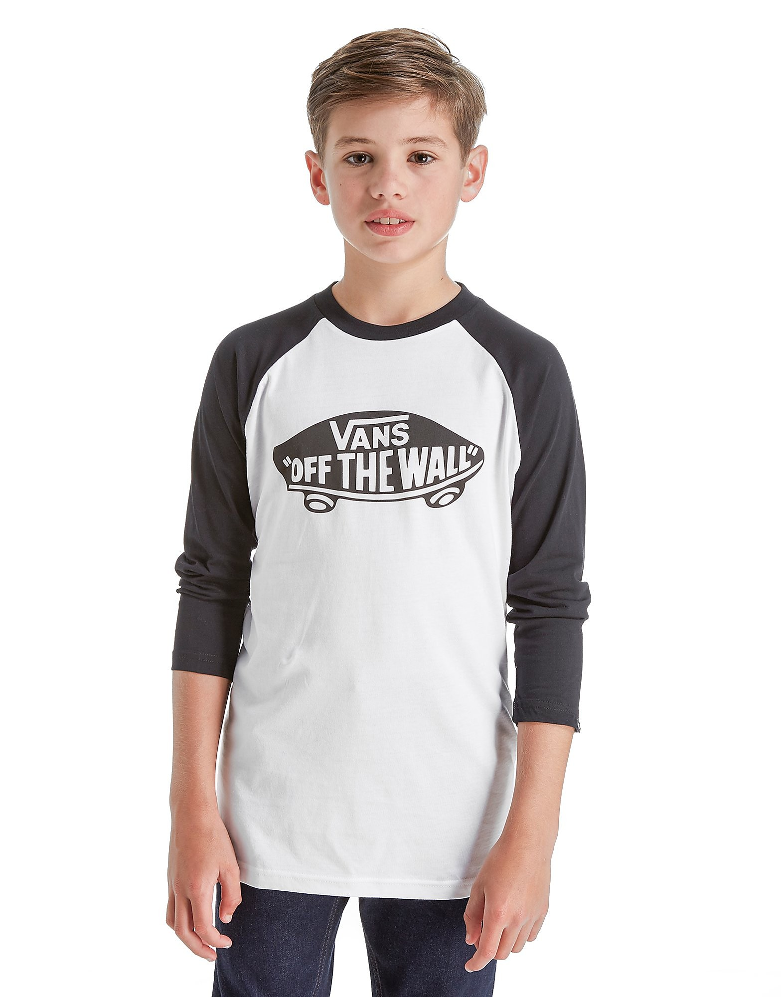 Vans Off The Wall Raglan Sleeve T-Shirt Junior