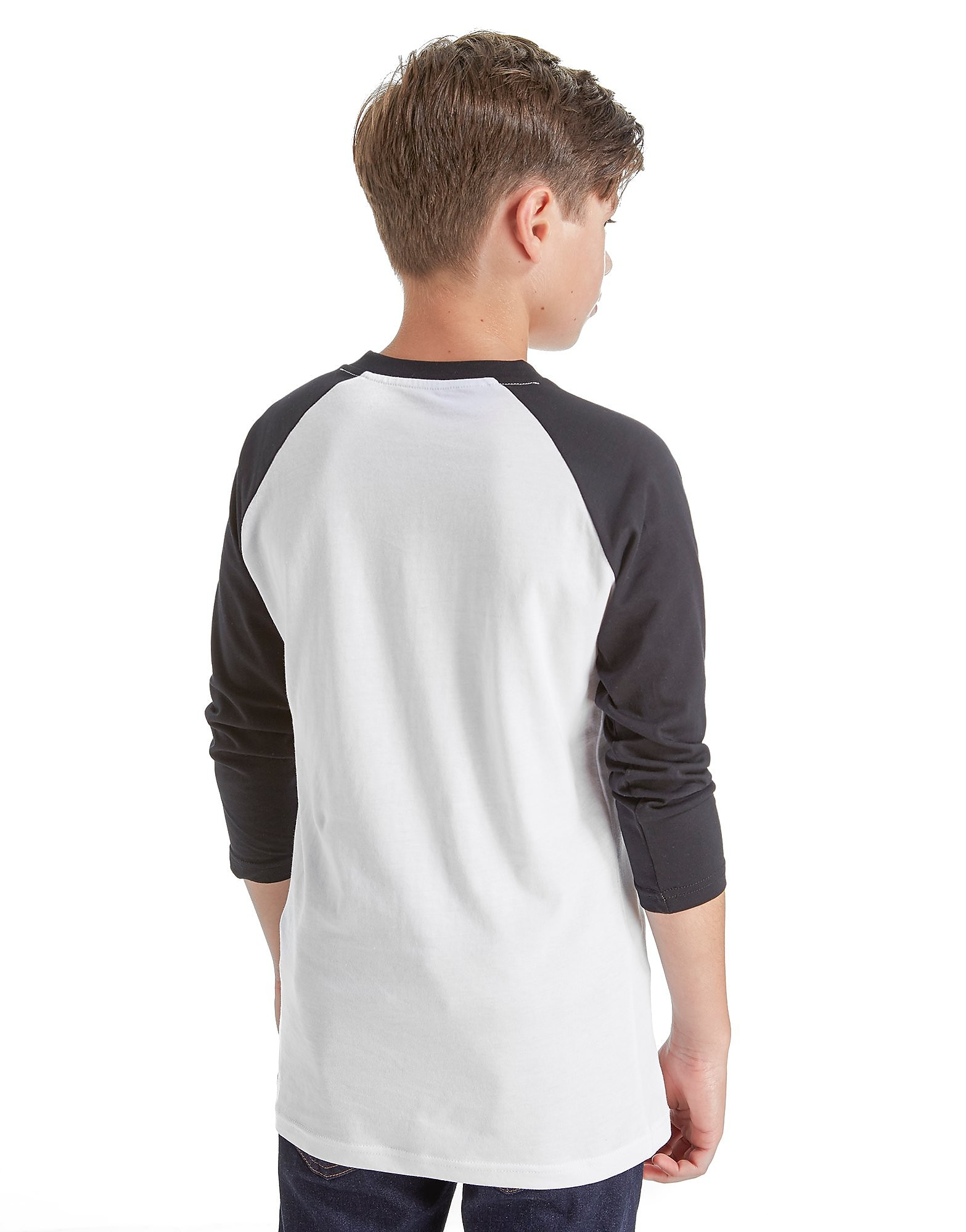 Vans camiseta Off The Wall Raglan Sleeve júnior