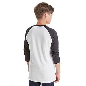 68d8ae78c36e44 ... Vans Off The Wall Raglan Sleeve T-Shirt Junior