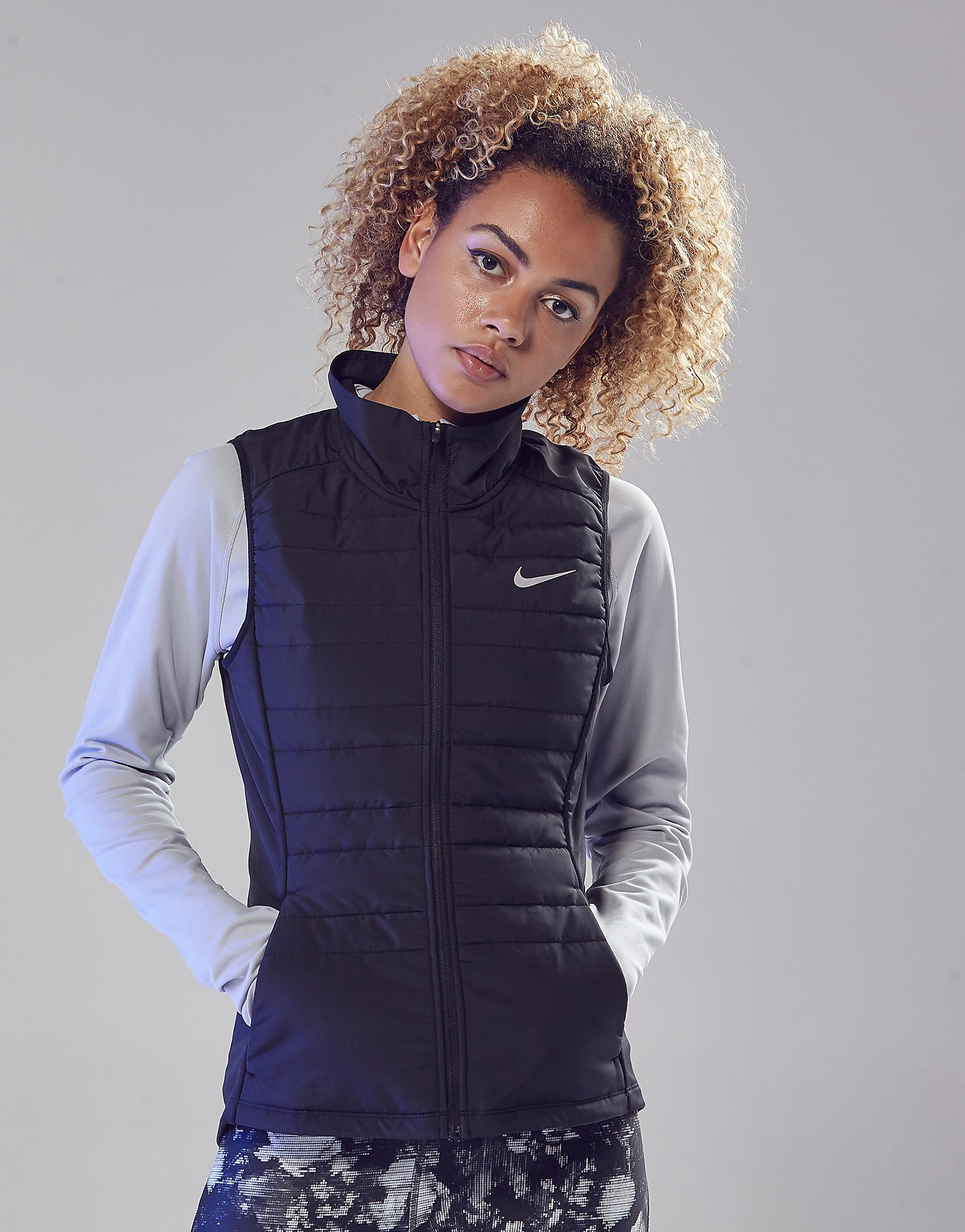 Nike Essential Lauf Gefüllte Weste