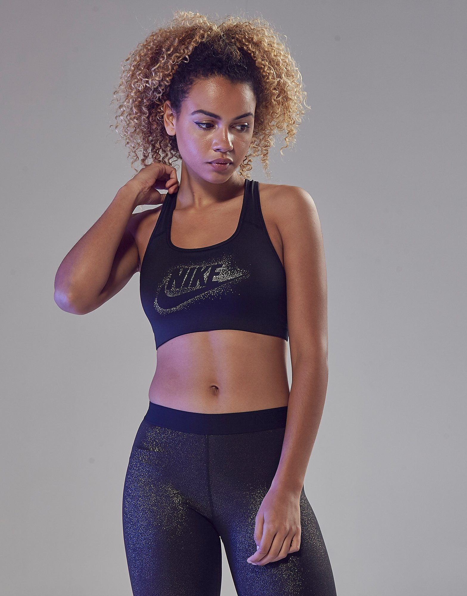 Nike Pro Training Futura Sports Bra