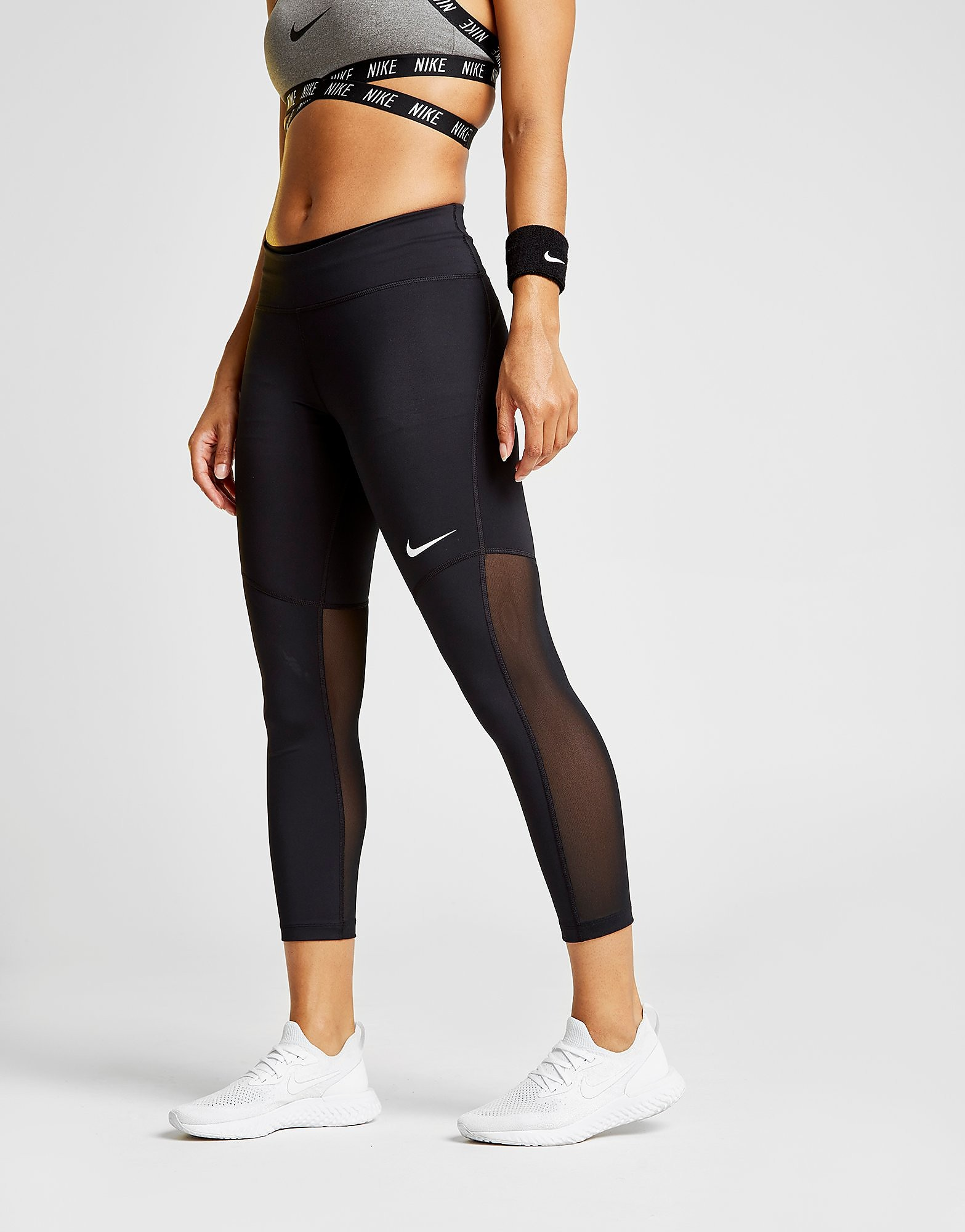 Nike Power Fly Crop Tights Dames