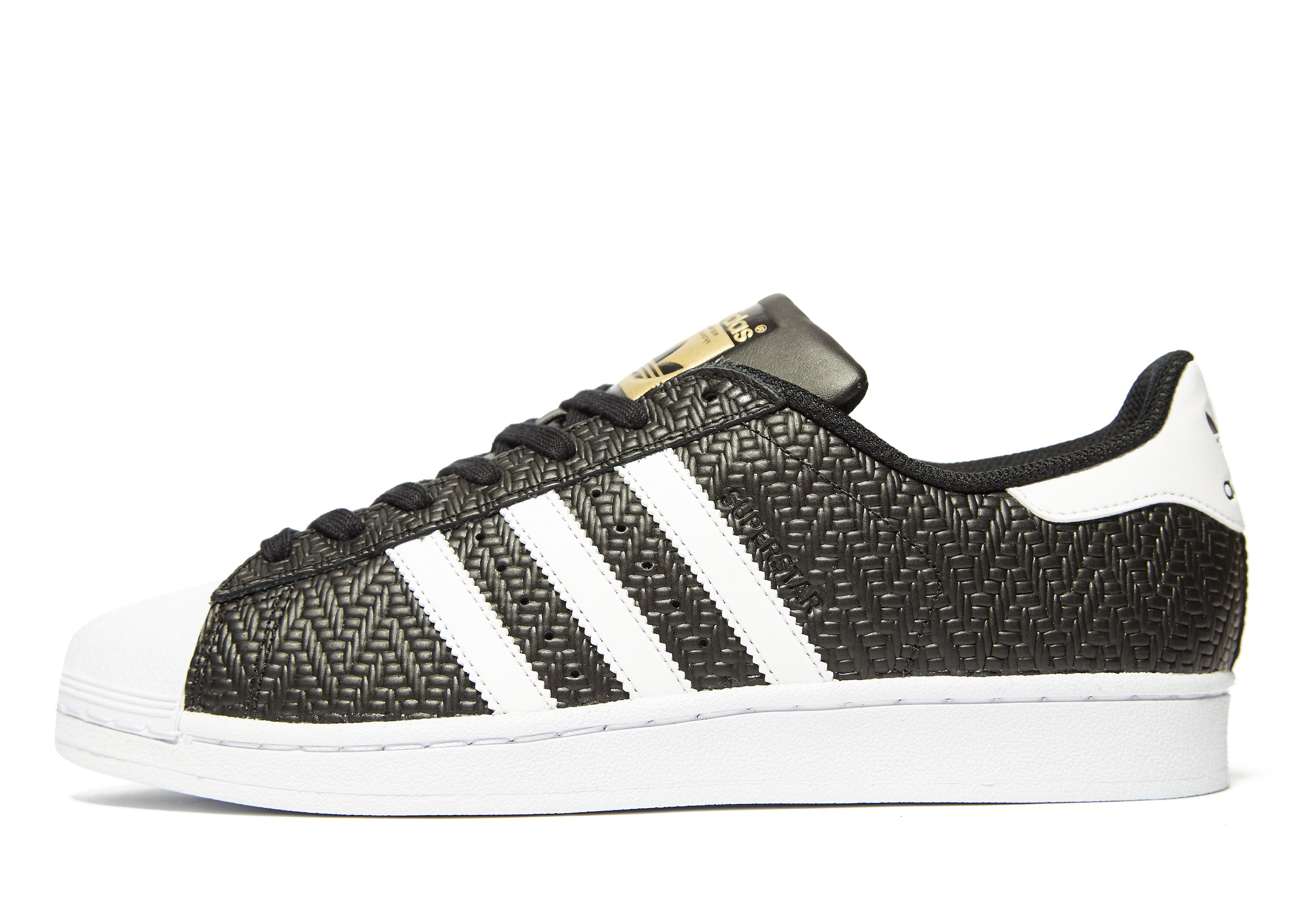 adidas Originals Superstar Schwarz-Weiß