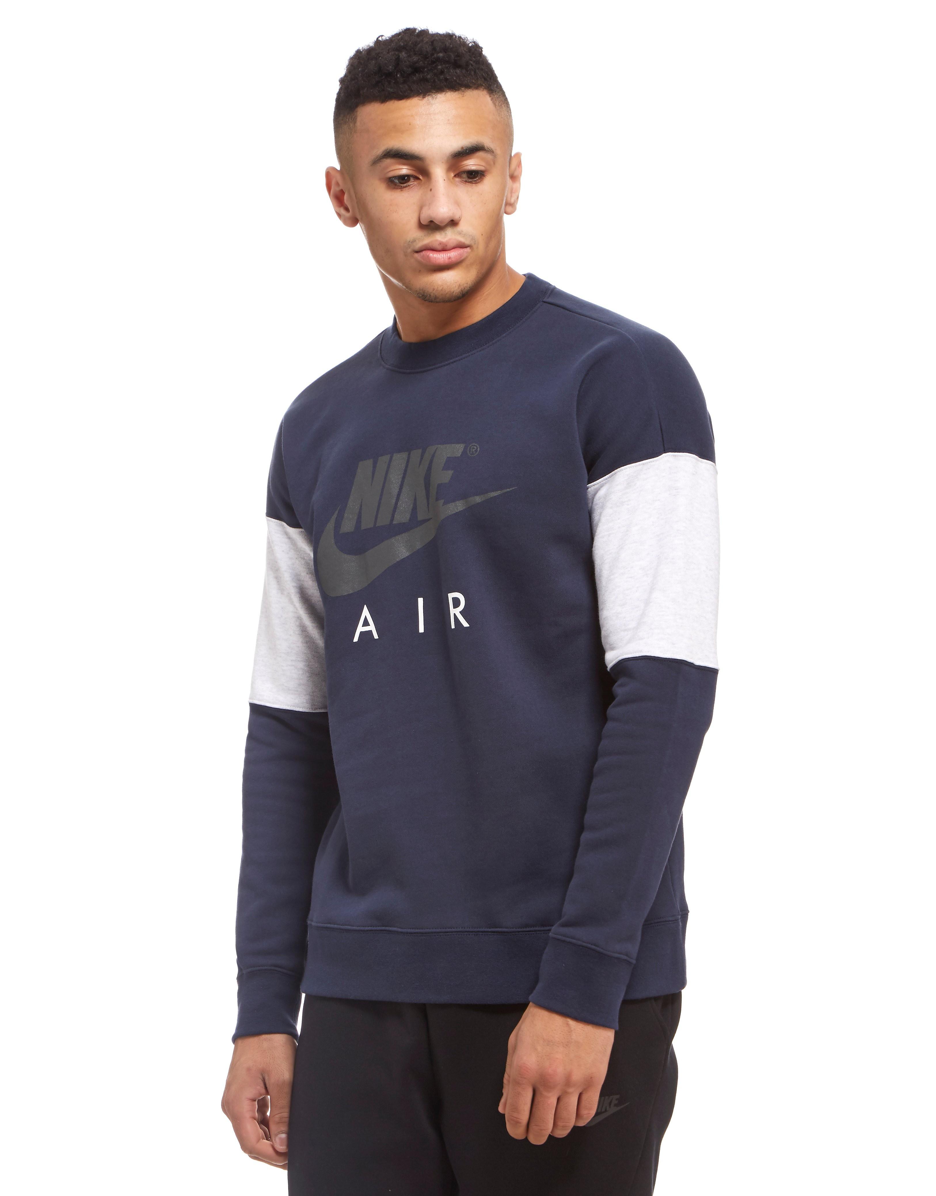 Nike Nike Air Fleece Rundhalsausschnitt Sweatshirt