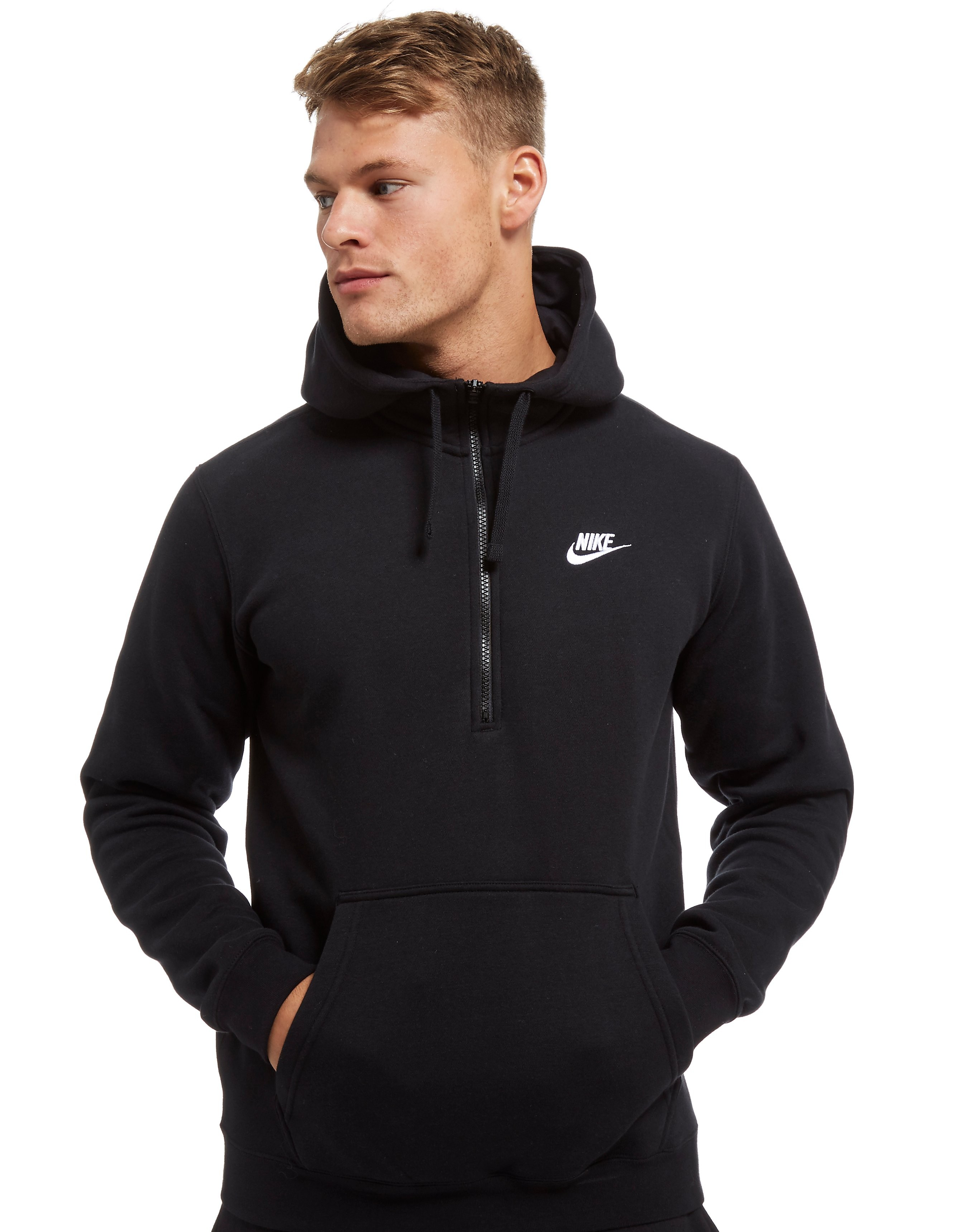 Nike Club Half-Zip Felpa