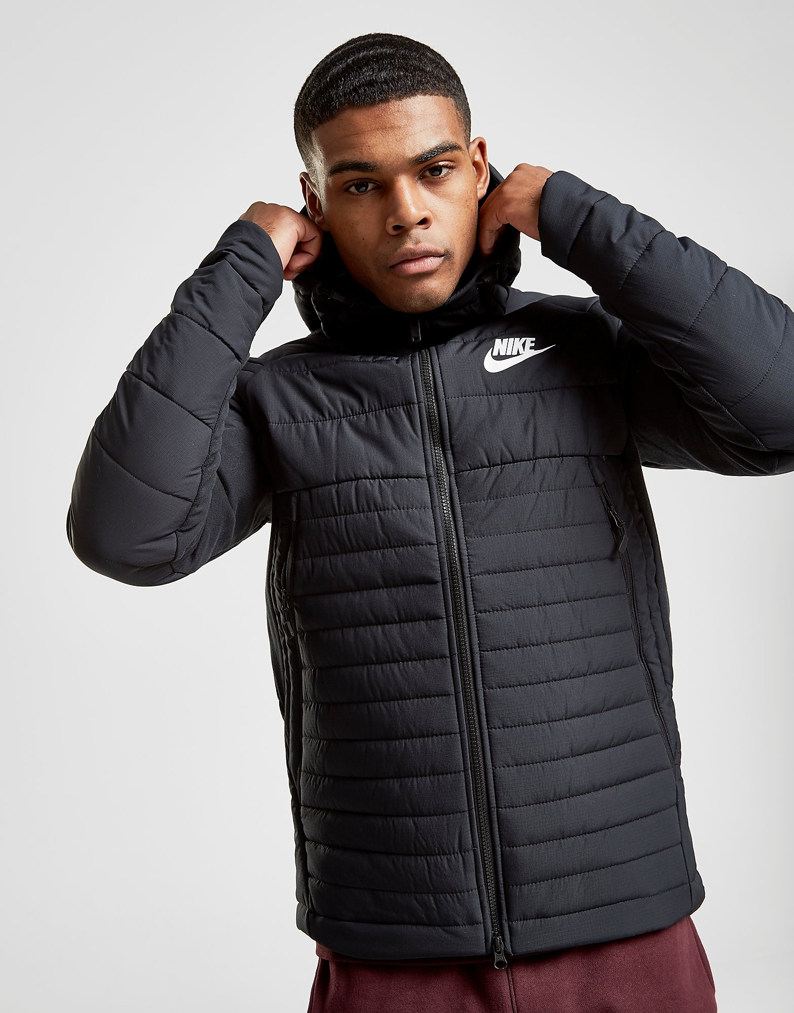 Nike Sportswear Hooded Down Jacket