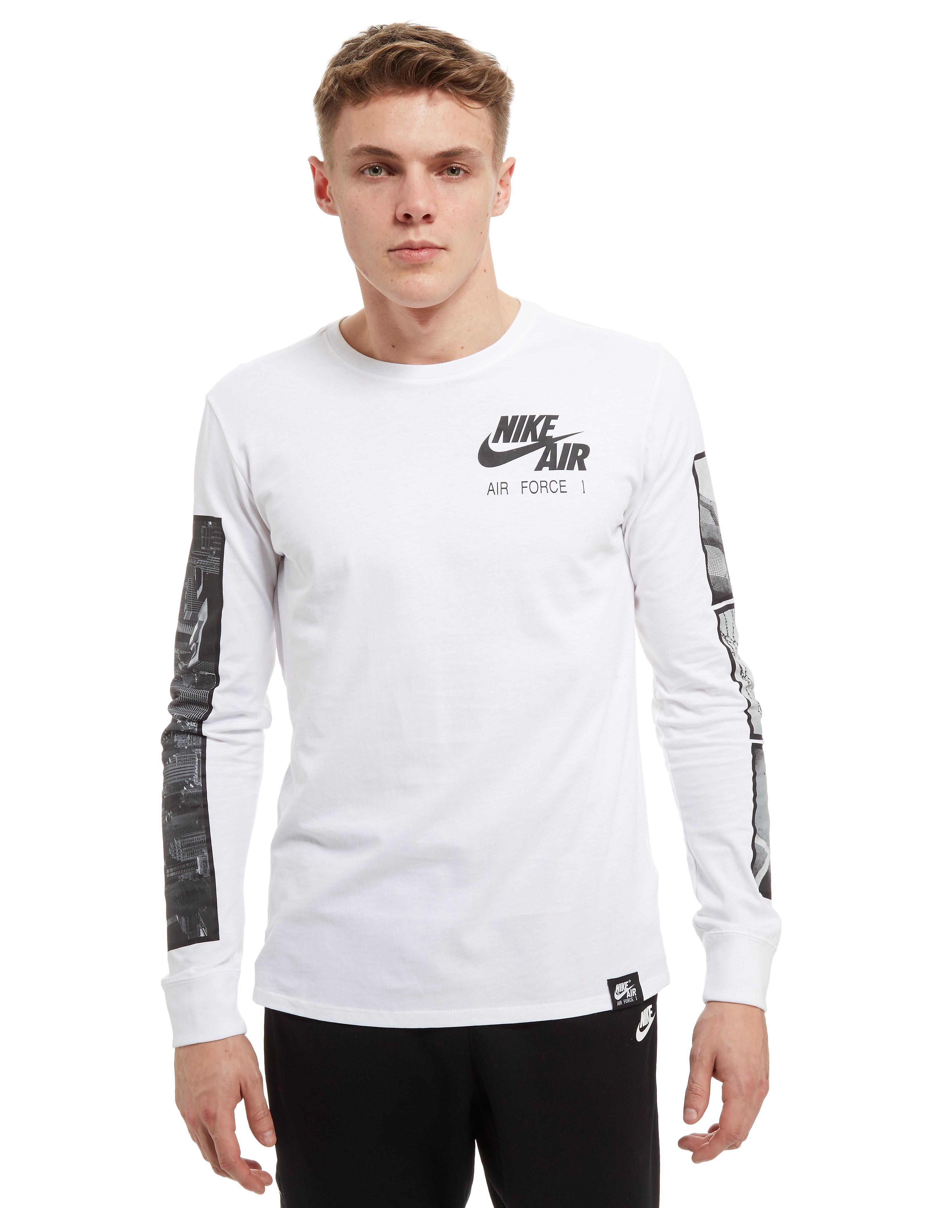 Nike Air Force 1 Foto Langarm T-Shirt