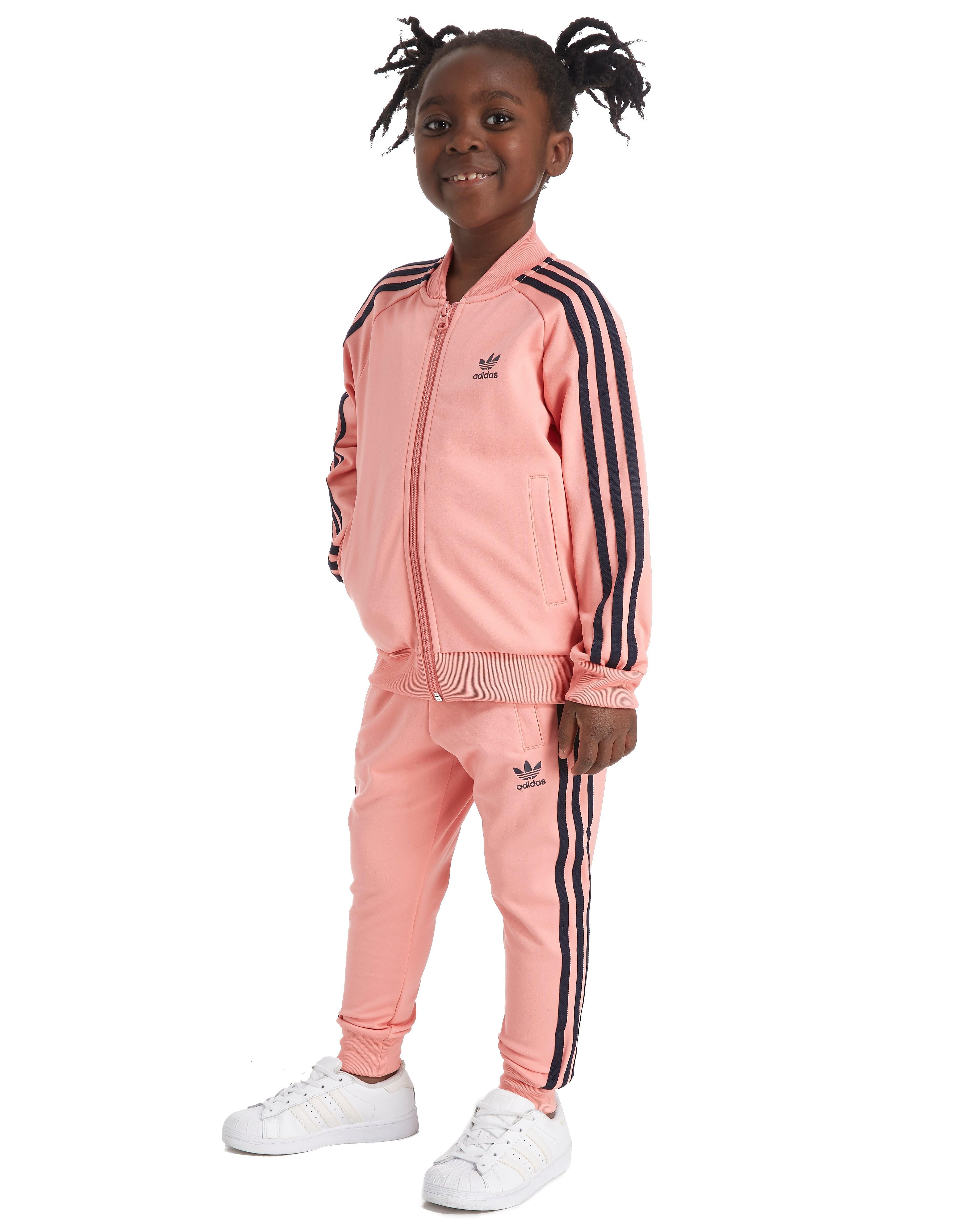 adidas Originals Girls' Superstar Tracksuit Kinderen - Roze - Kind