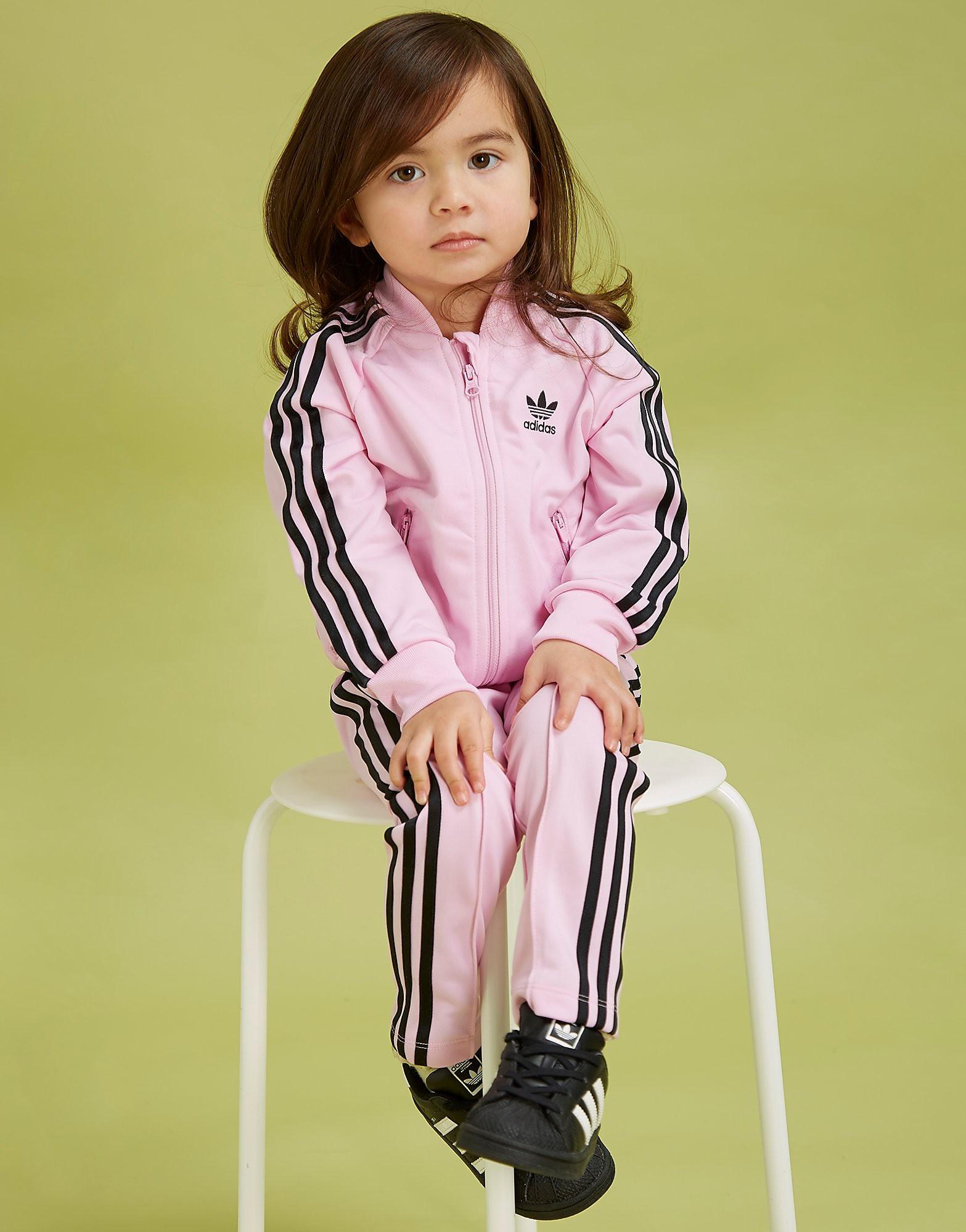 adidas Originals Grils' Superstar Tracksuit Infant