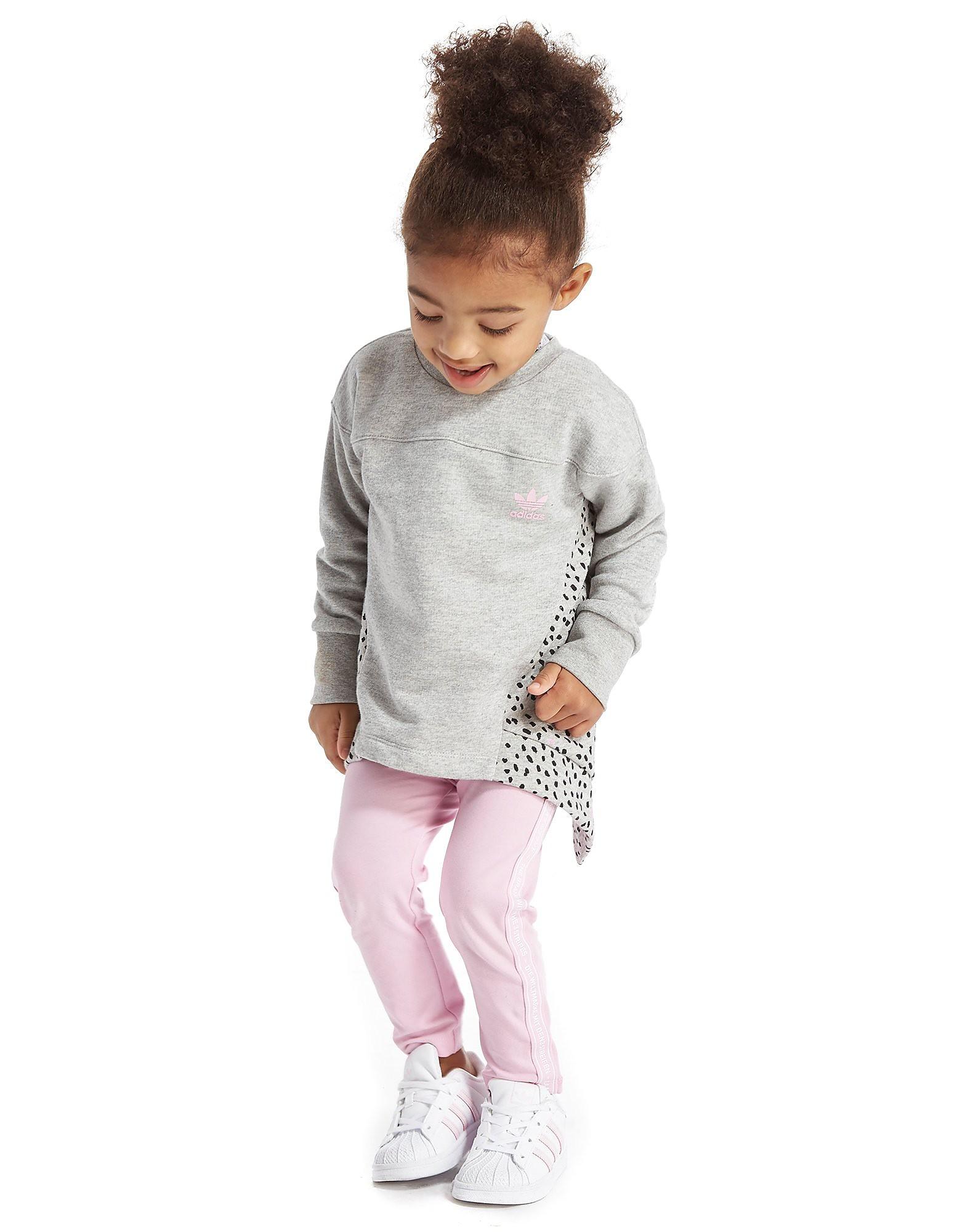 adidas Originals Girls' NMD Crew/Leggings Set Infant