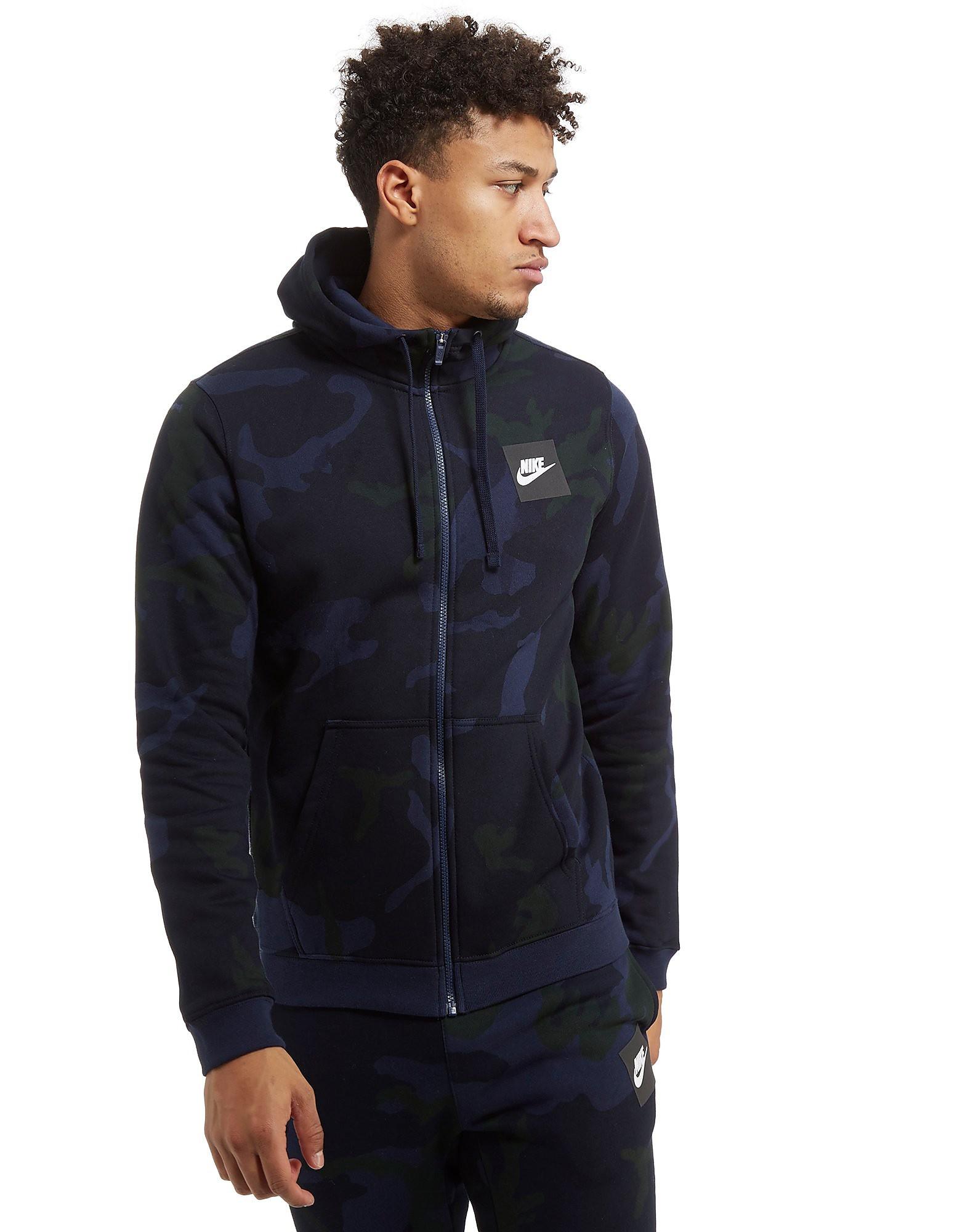 Nike Camo Full Zip Hoodie