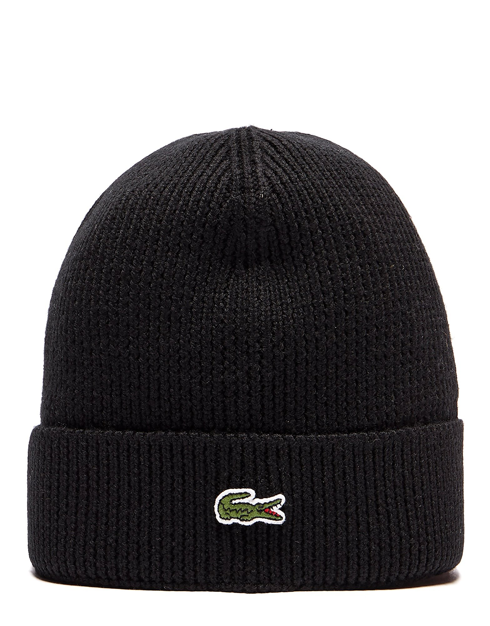 Lacoste Cuffed Beanie Hat
