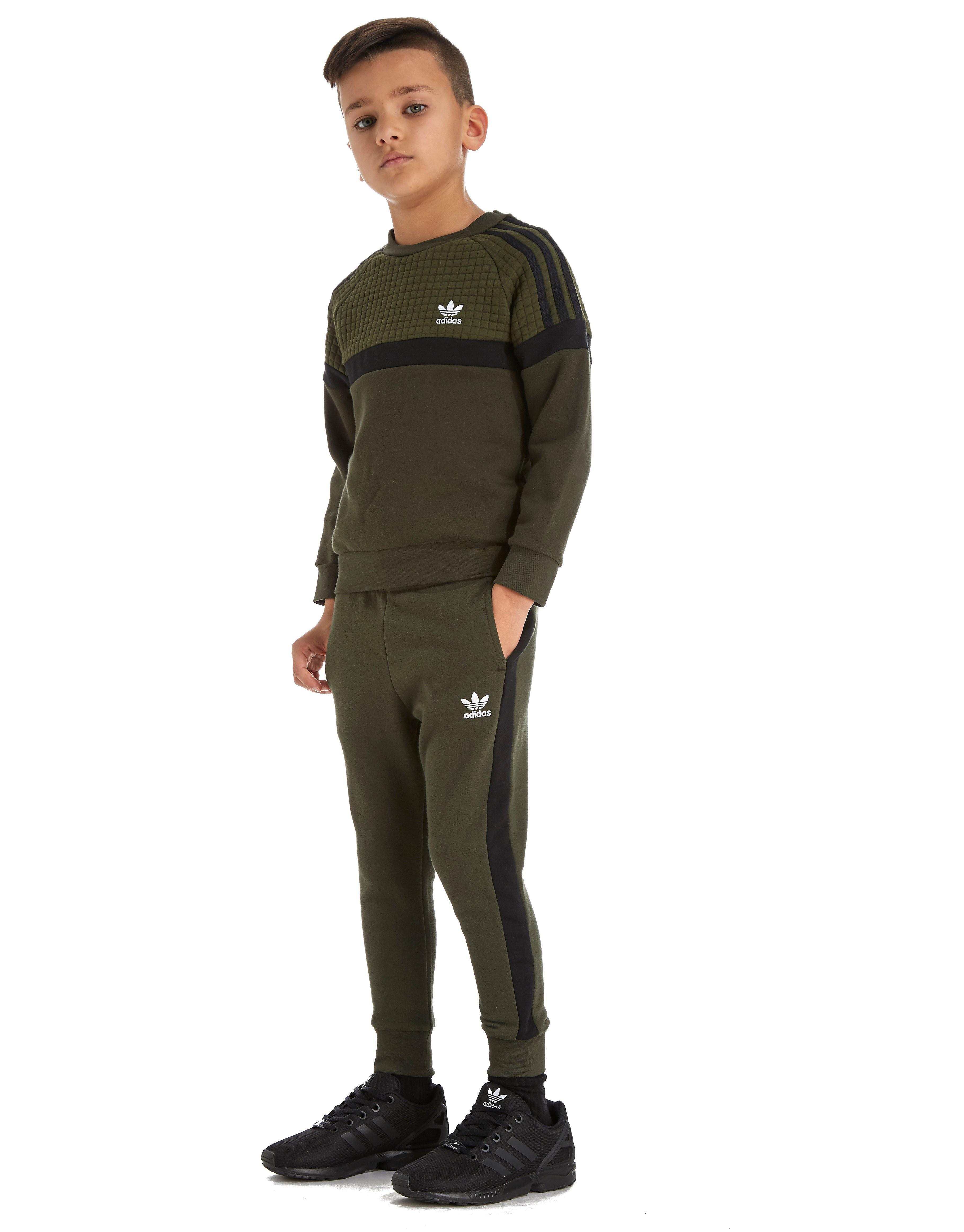 adidas Originals Itasca Crew Tracksuit Children