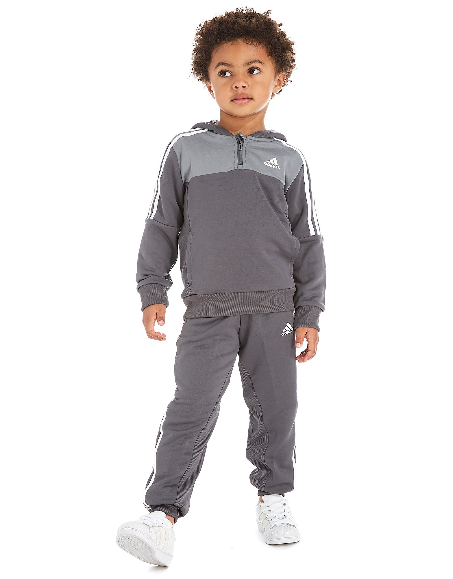 adidas Football Poly Tracksuit Kinderen