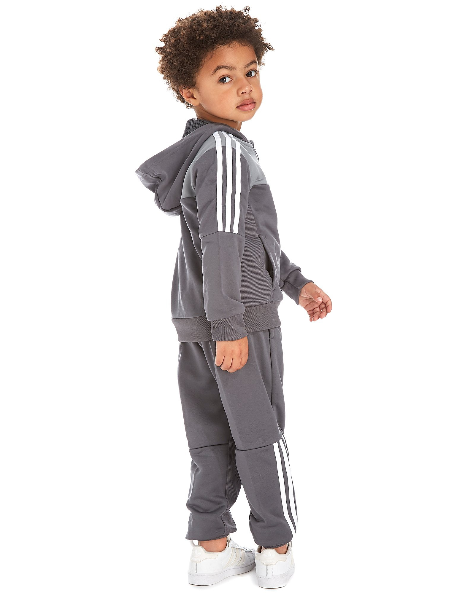 adidas Football Poly Tracksuit Children