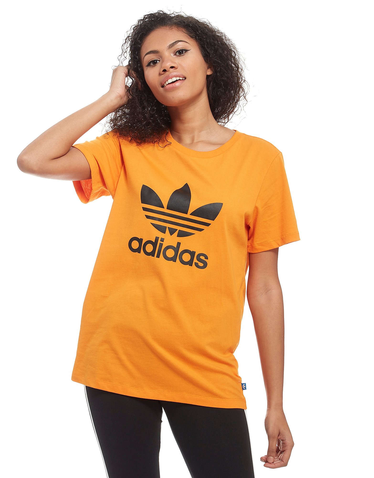 adidas Originals Trefoil Boyfriend T-Shirt Dames