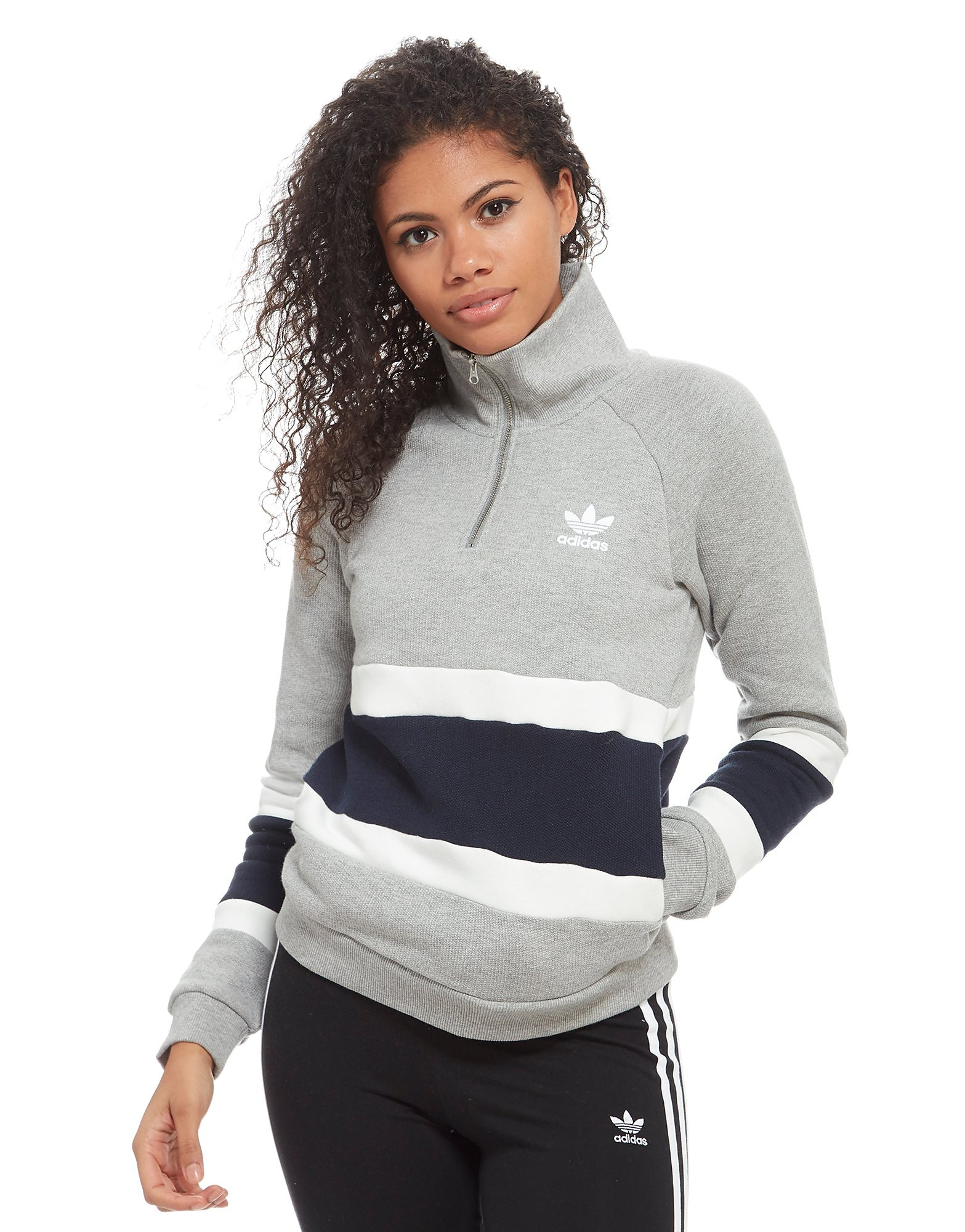 adidas Originals 1/2 Zip Felpa